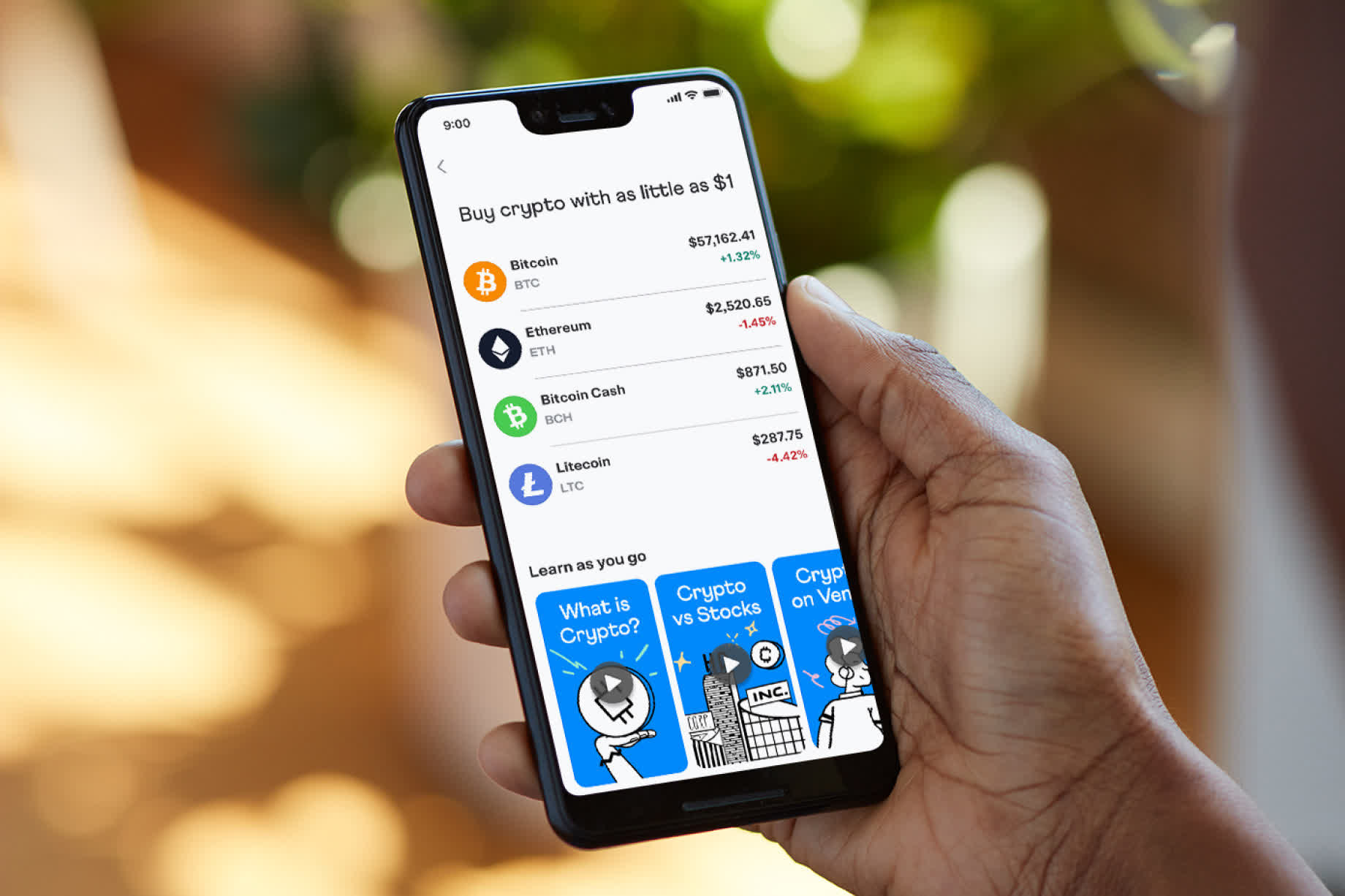 Venmo users can now buy, hold, and sell four types of cryptocurrencies