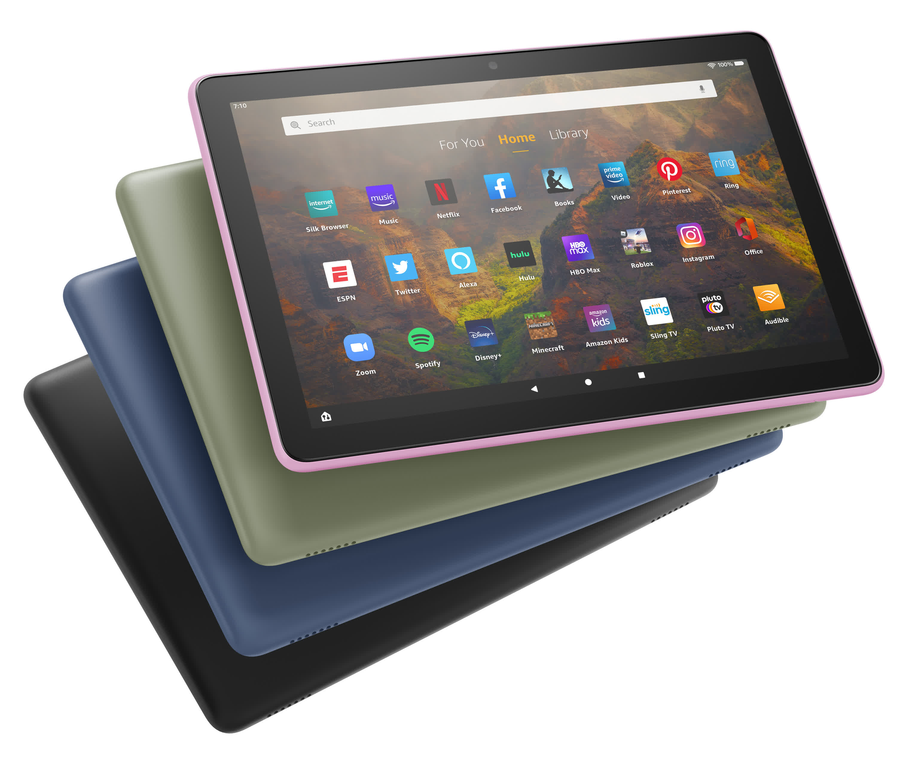 Amazon tablet lineup update brings new Fire HD 10, Fire Kids Pro, and Fire Kids 10 models