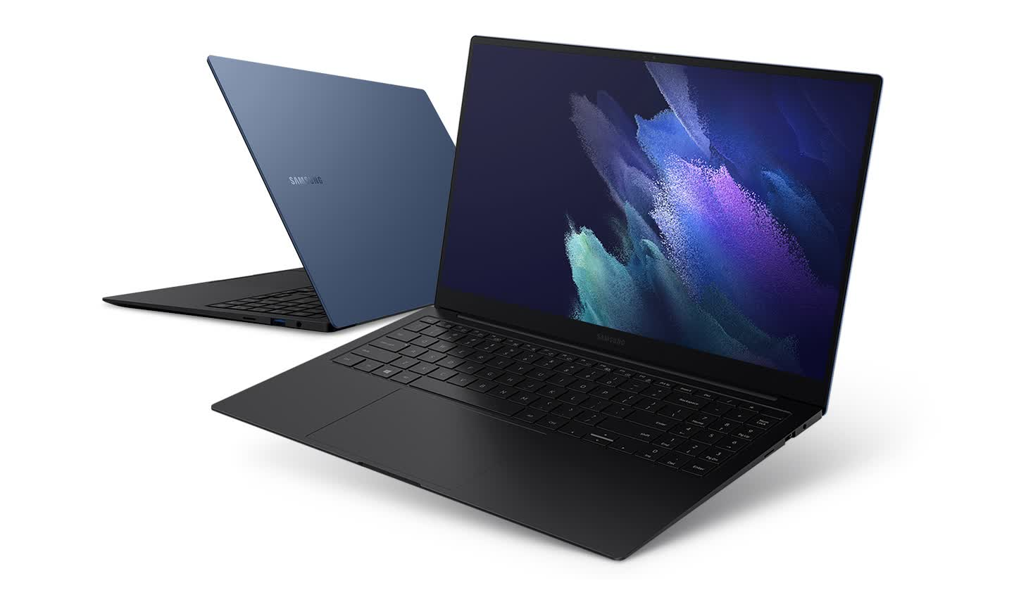 Samsung unveils two premium ultrabooks, the Galaxy Book Pro and Pro 360 thumbnail