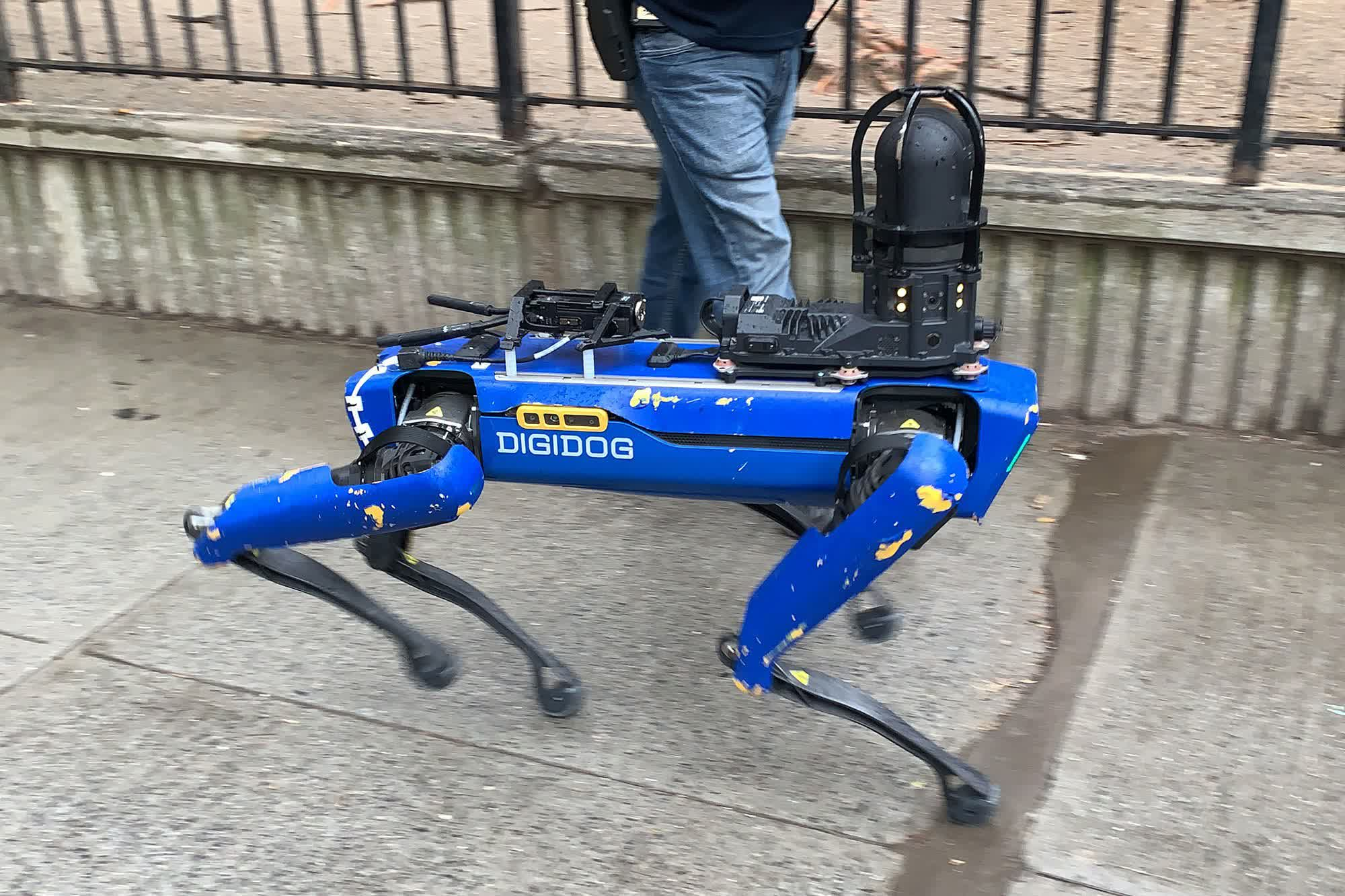 NYPD rips up $94,000 'Digidog' contract with Boston Dynamics after backlash from activists and city officials