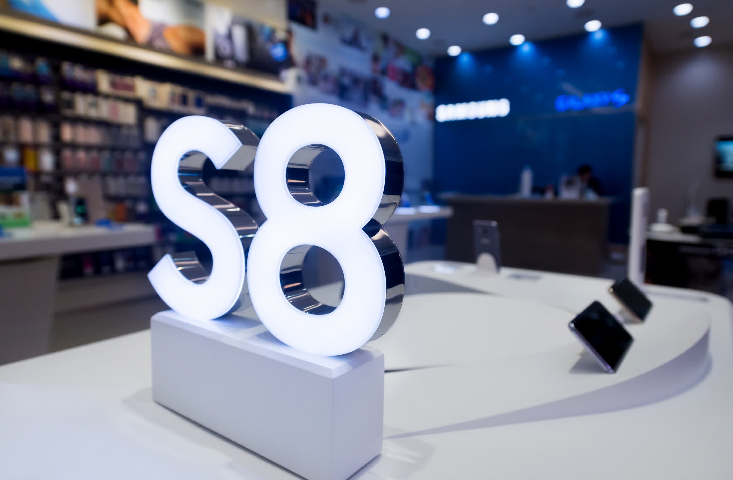 Samsung stops updating the Galaxy S8 after four years