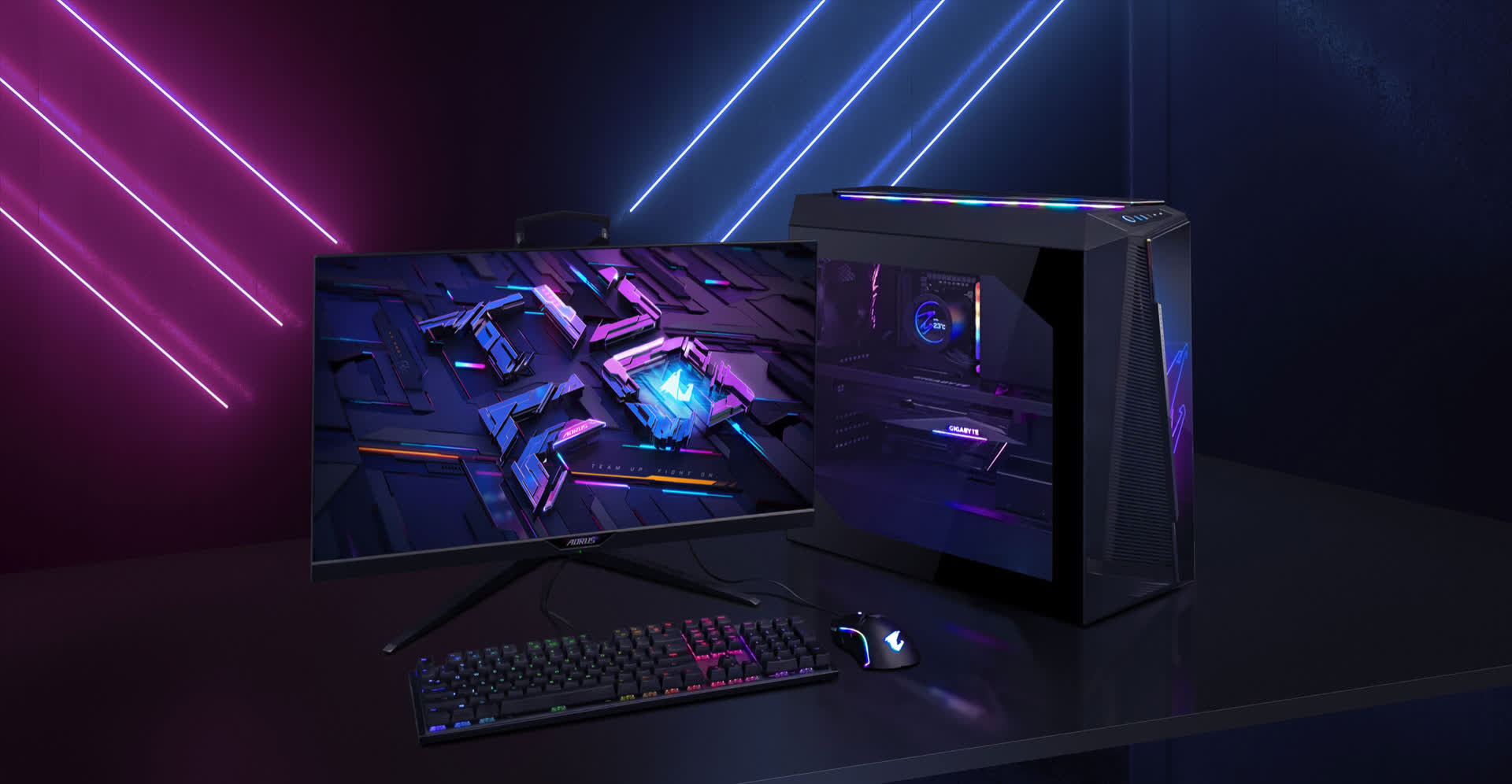 Gigabyte announces a pair of Aorus pre-built gaming rigs with Intel/AMD chips and Nvidia RTX 3080 graphics