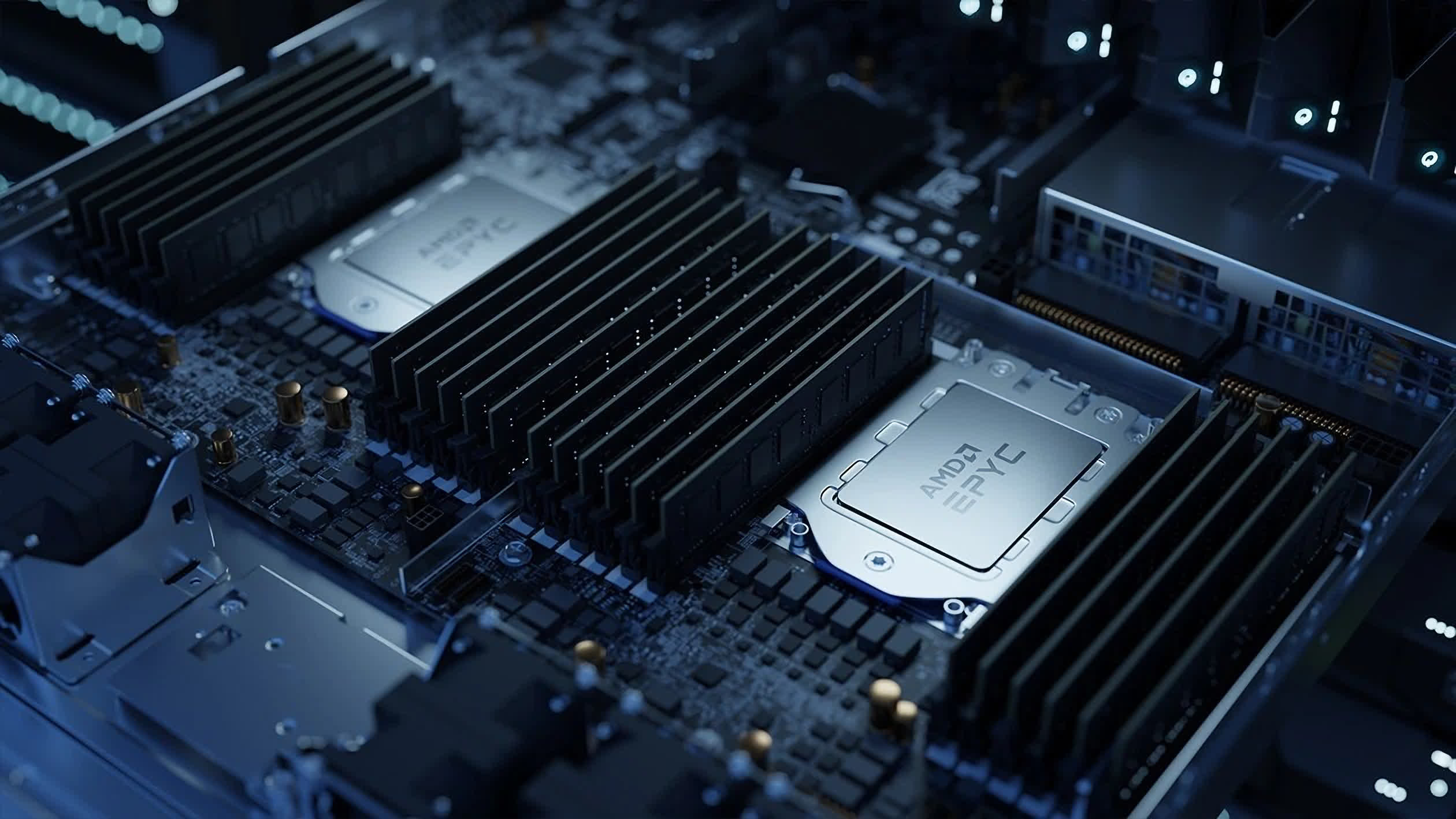 AMD chipping away at Intel's server CPU market share as it sees record growth