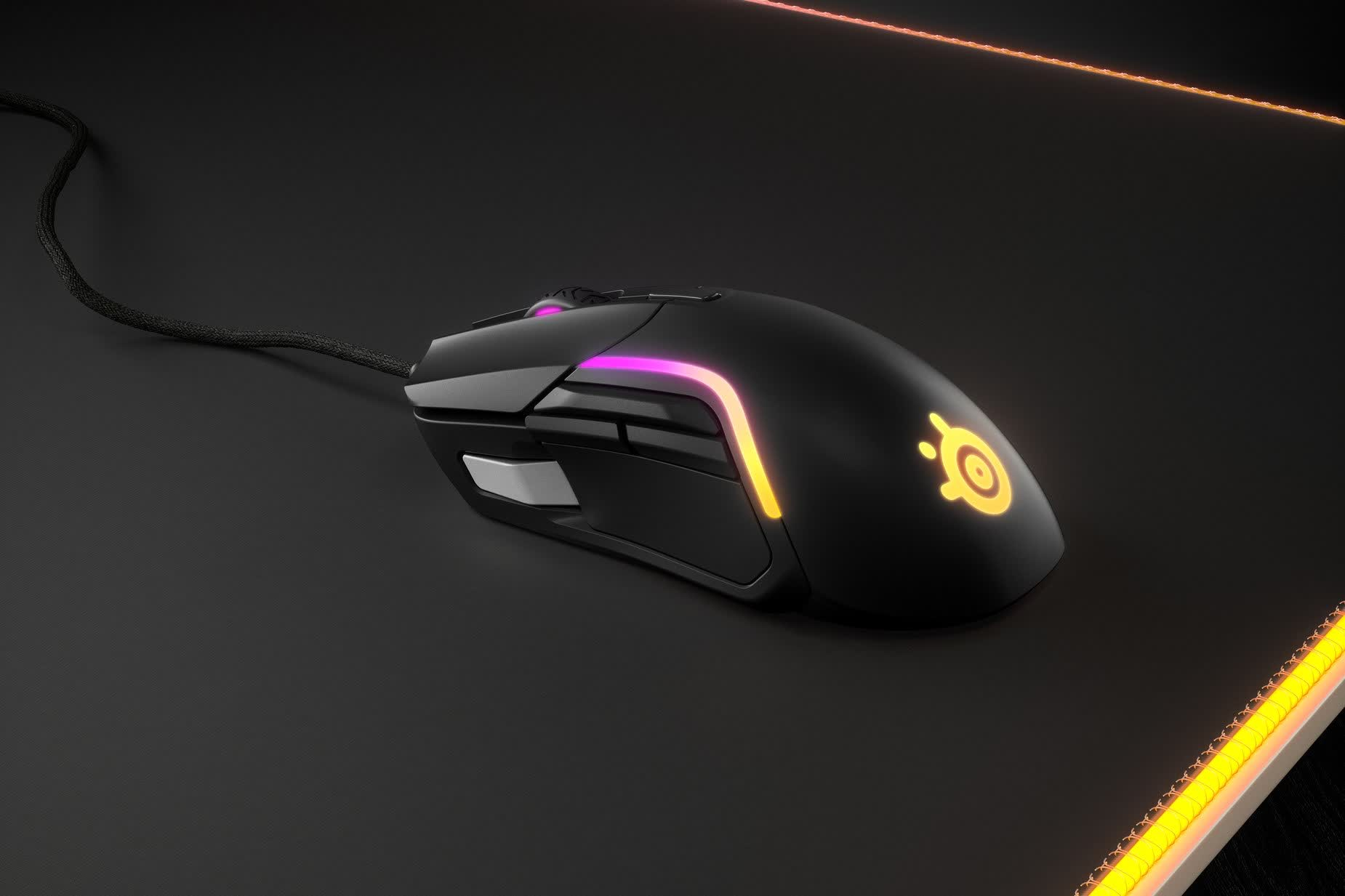 SteelSeries announces jack-of-all-trades gaming mouse, the Rival 5