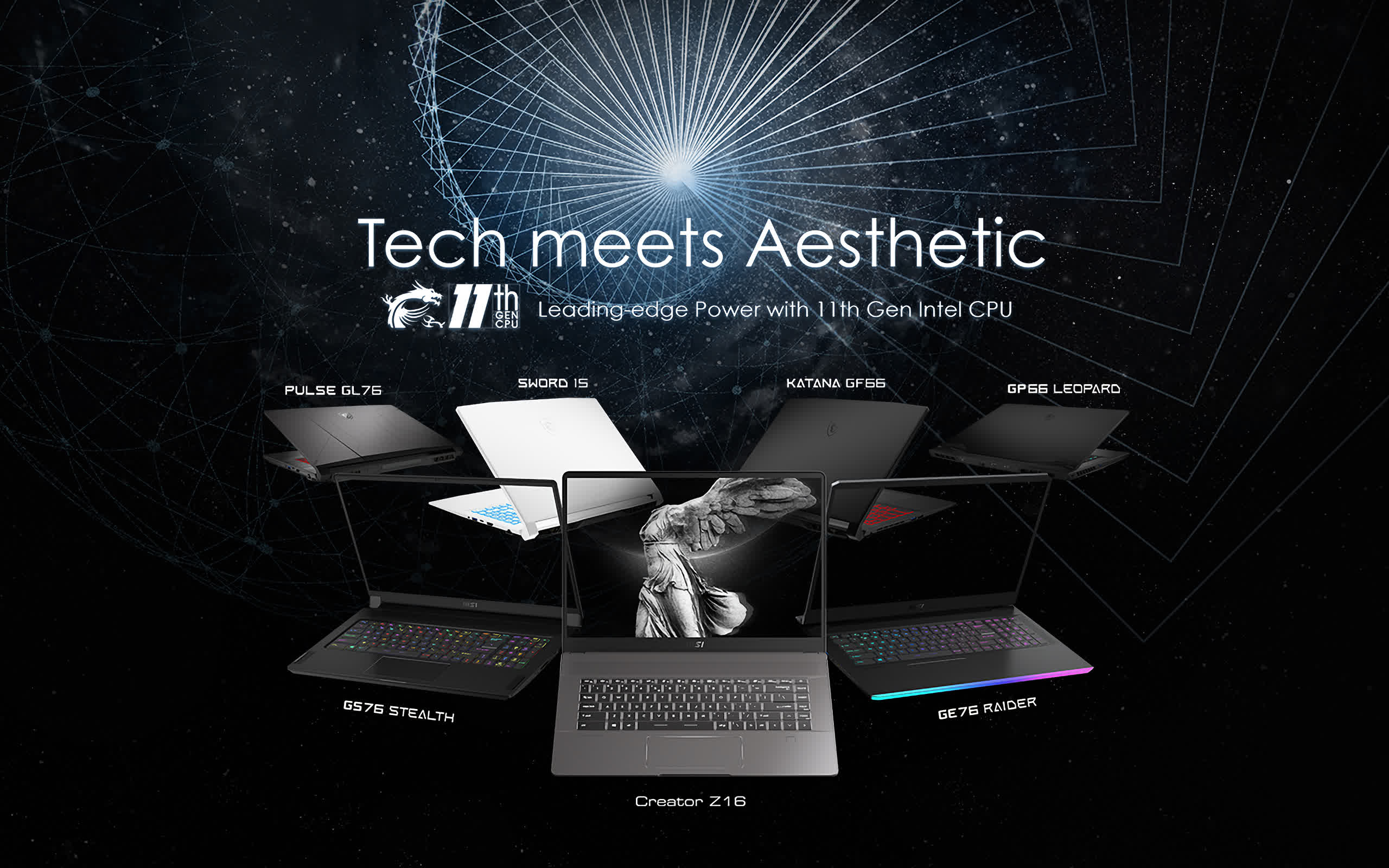 MSI takes aim at the 16-inch MacBook Pro with new laptops for creators and gamers
