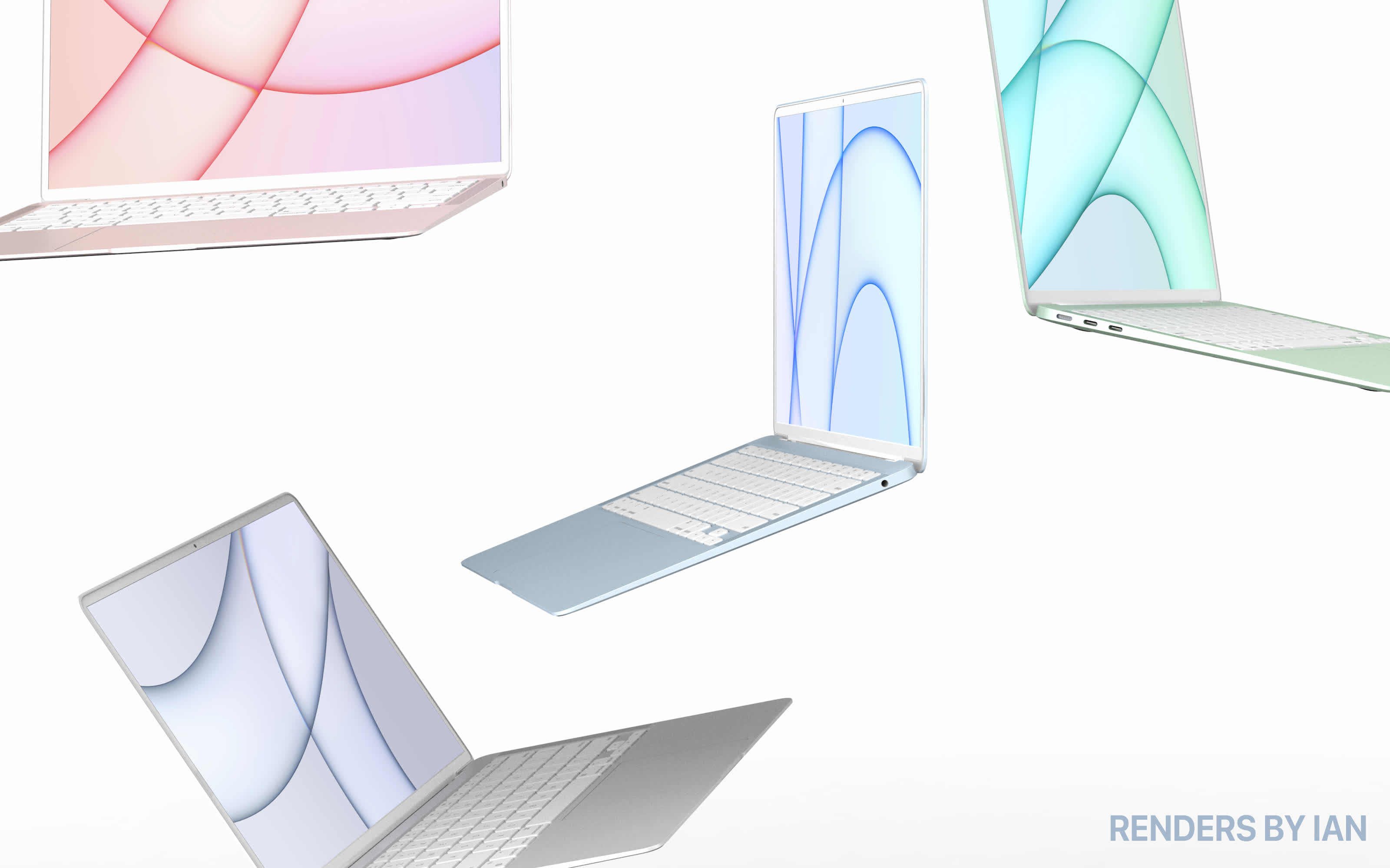 Rumored MacBook Air redesign revealed in leaked images