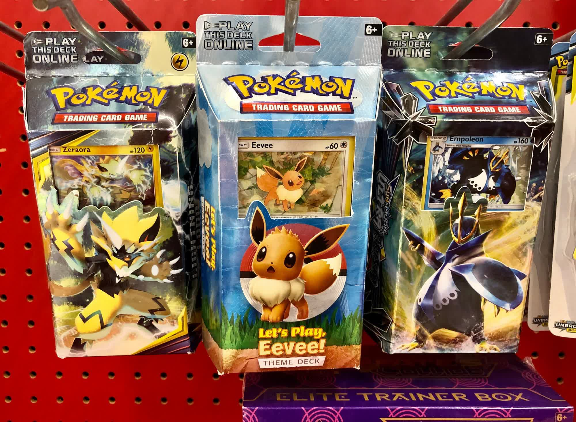 Target will stop selling Pokémon cards in stores from tomorrow