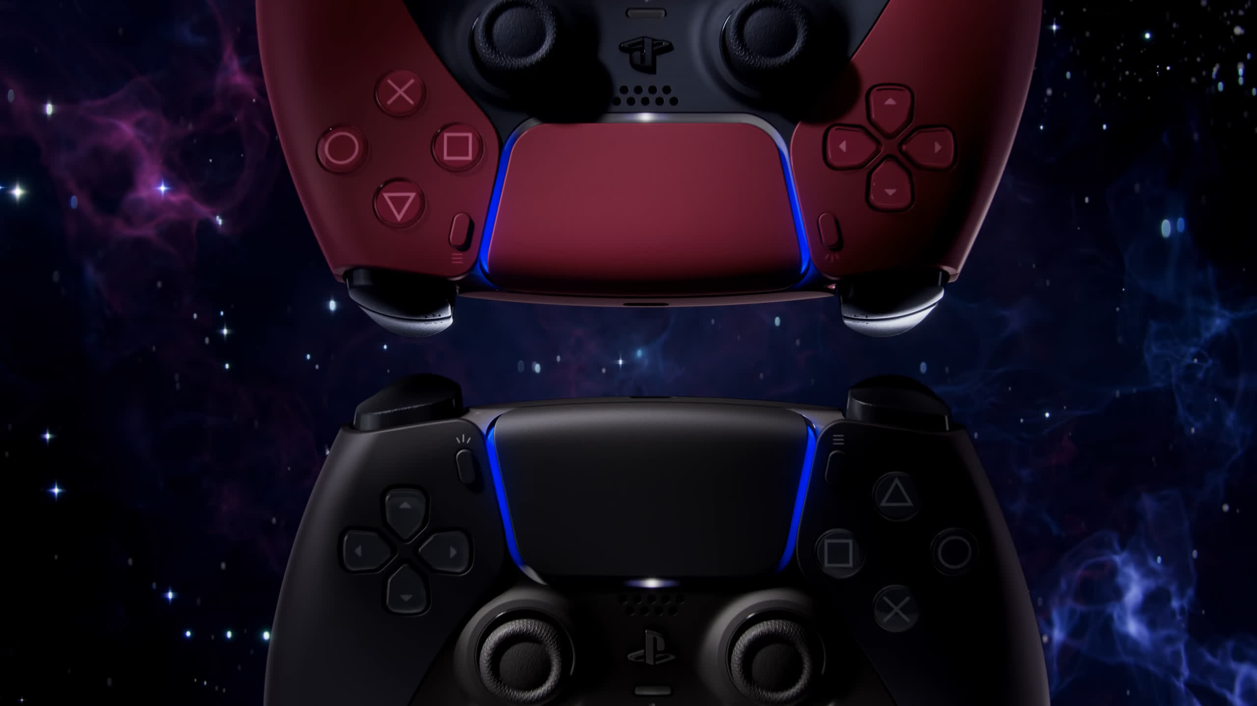 PS5 DualSense controllers now come in white, black, or red