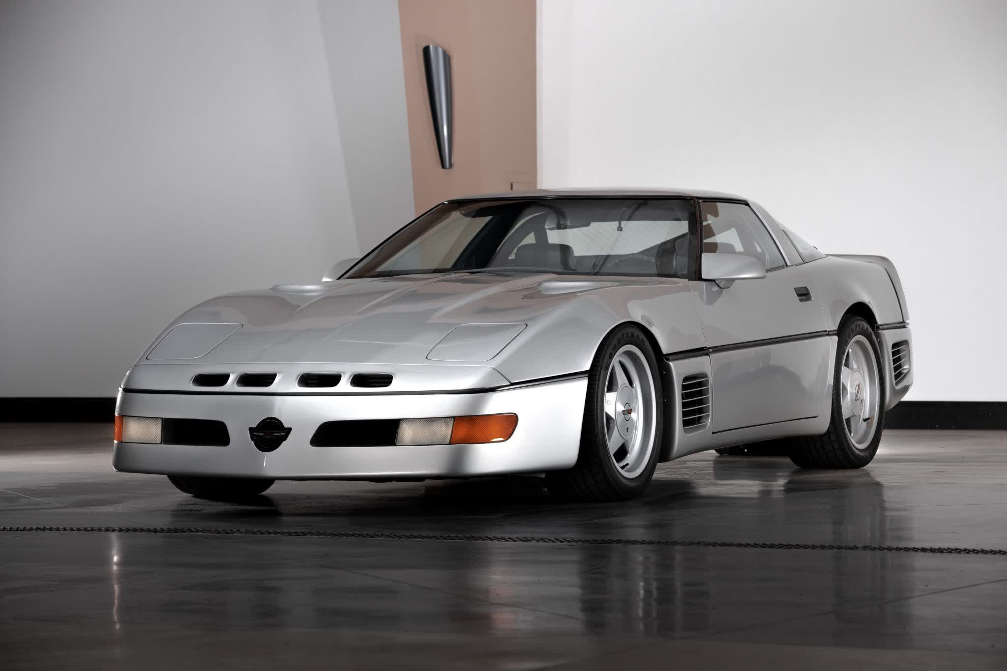 One-of-a-kind Corvette that hit 255 mph in 1988 heads to auction