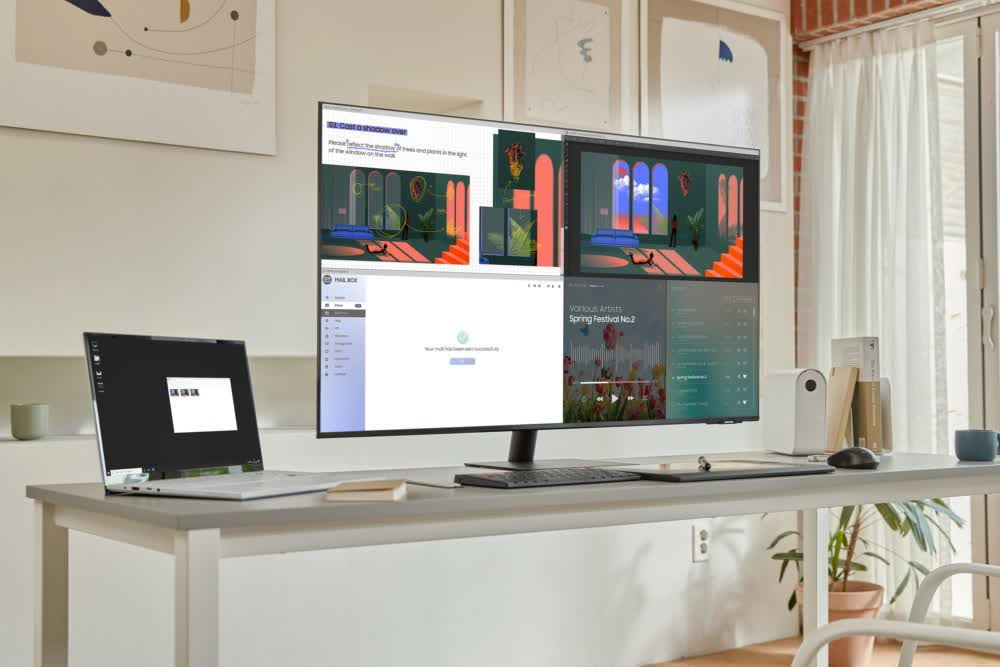 Samsung adds massive 43-inch 4K model to its all-in-one Smart Monitor line