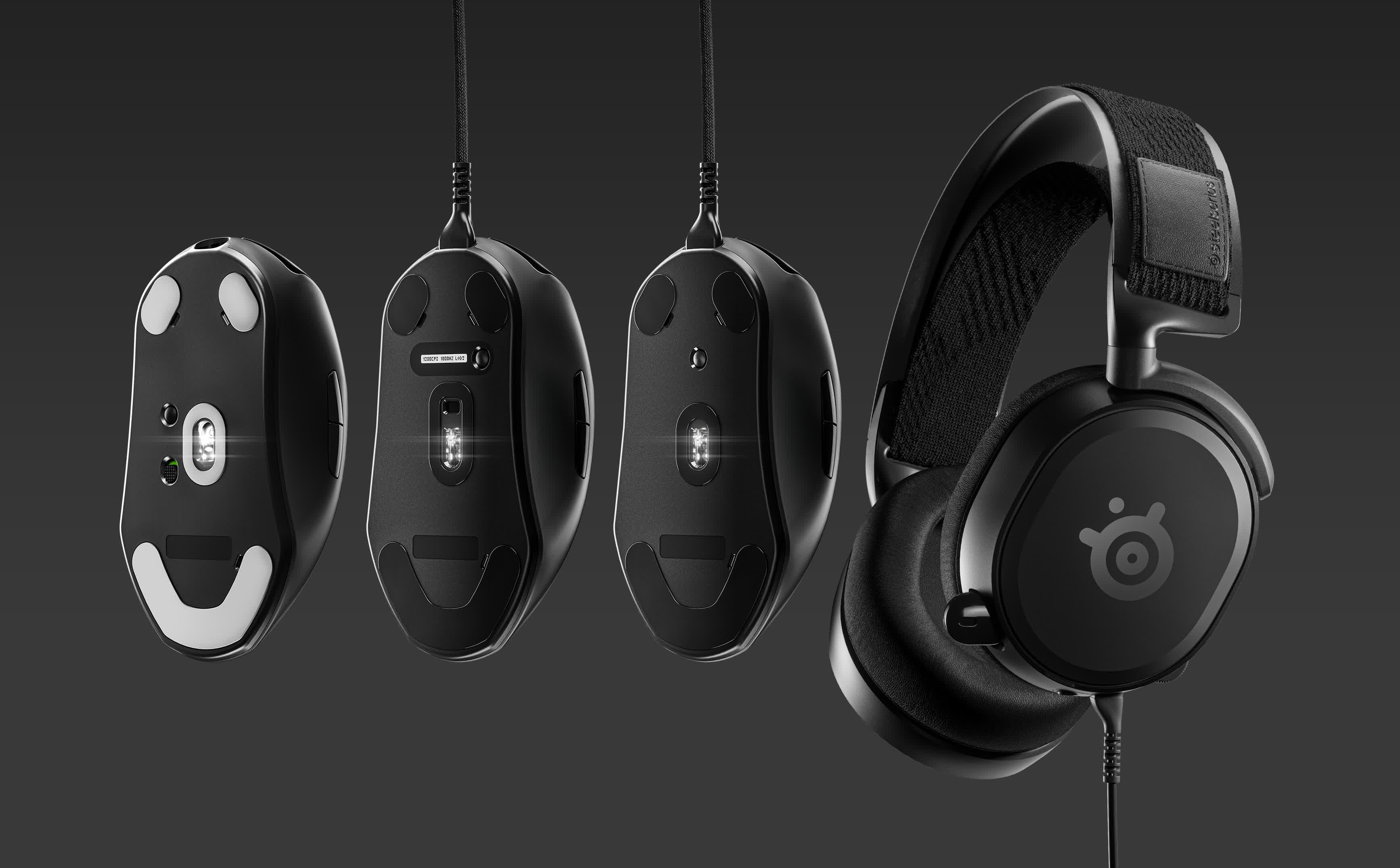 SteelSeries launches three mice, headset under new Prime gaming line