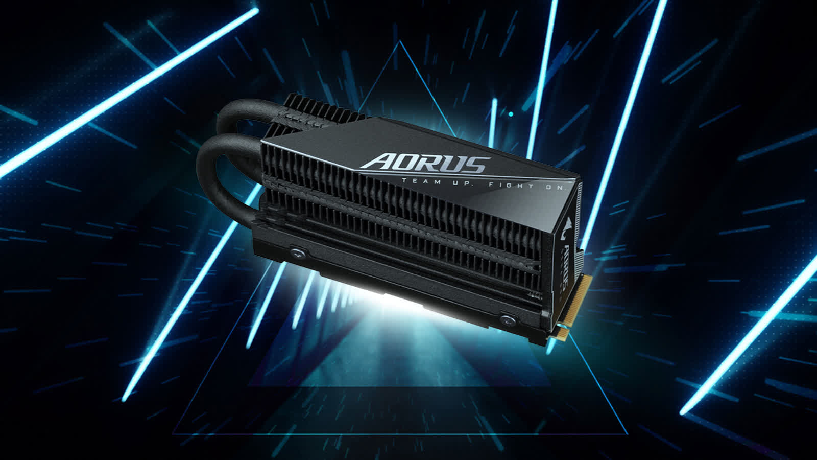 Gigabyte's new high-performance m.2 NVMe SSD boasts of 7GB/s read speeds that won't throttle