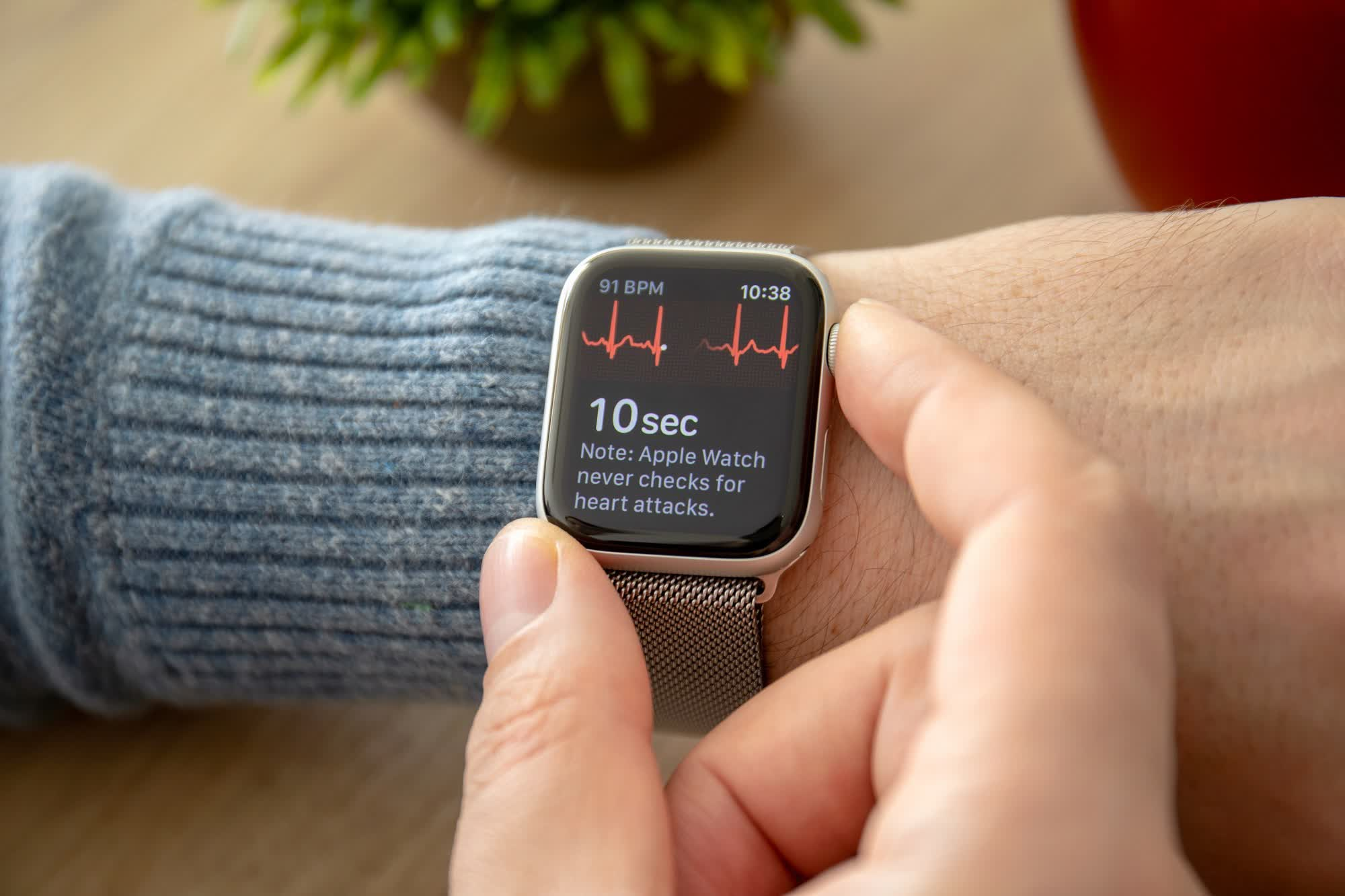Apple's alleged monopolistic practices called rotten to the core in Apple Watch ECG lawsuit