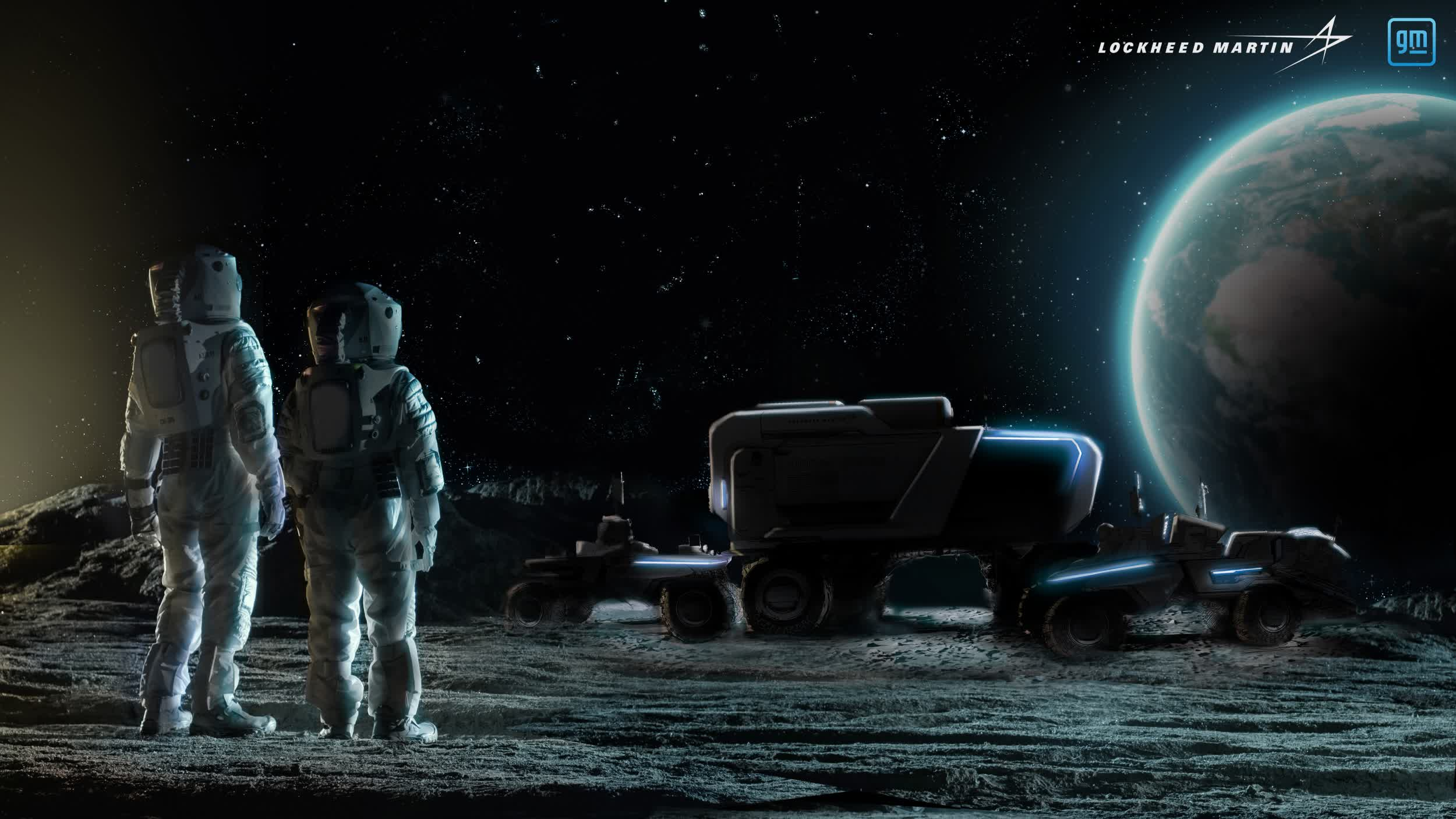 General Motors and Lockheed Martin team up to build lunar rover for NASA's return to the Moon