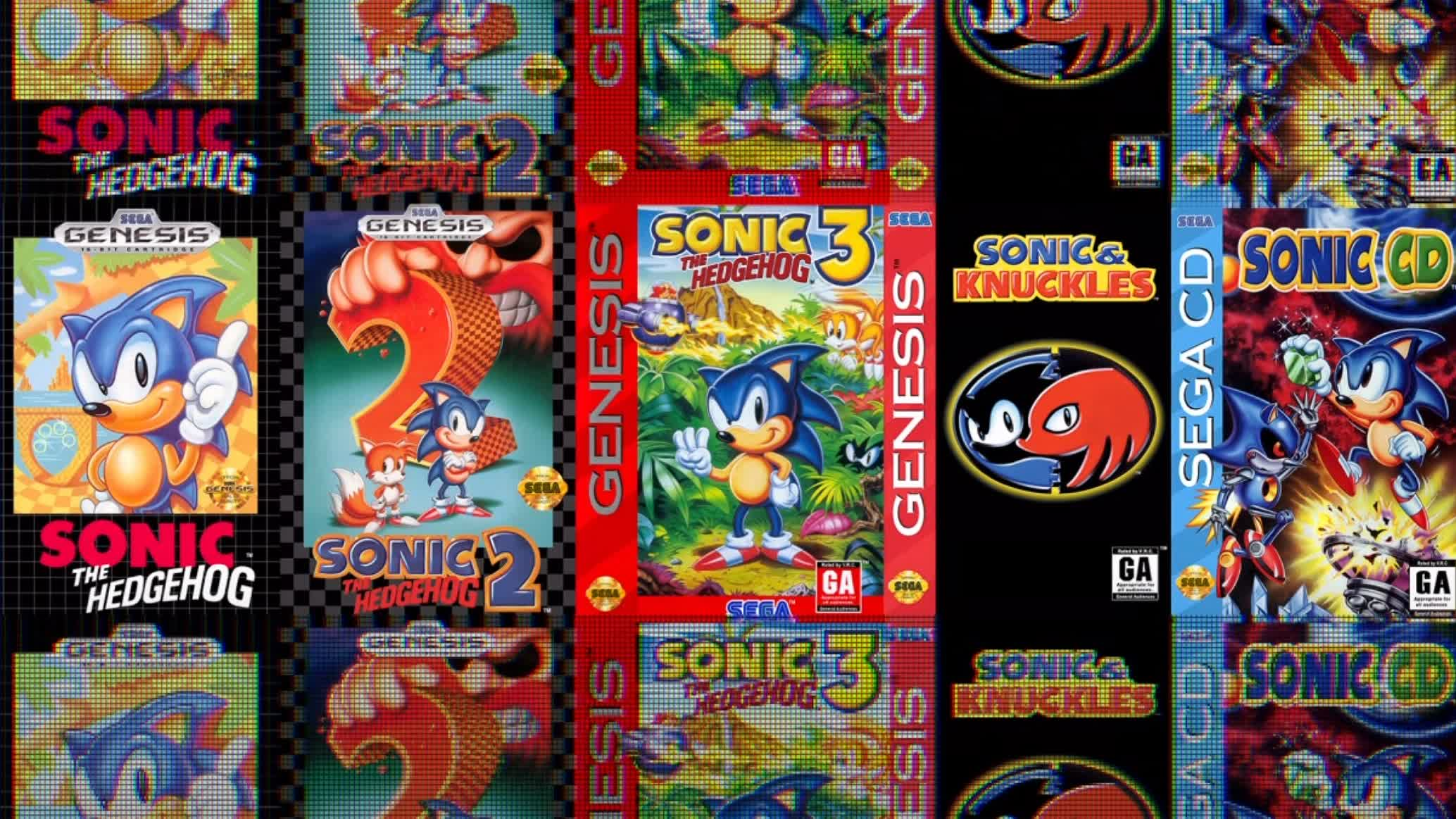 Sega is bundling five classic Sonic the Hedgehog games into a new compilation called Sonic Origins