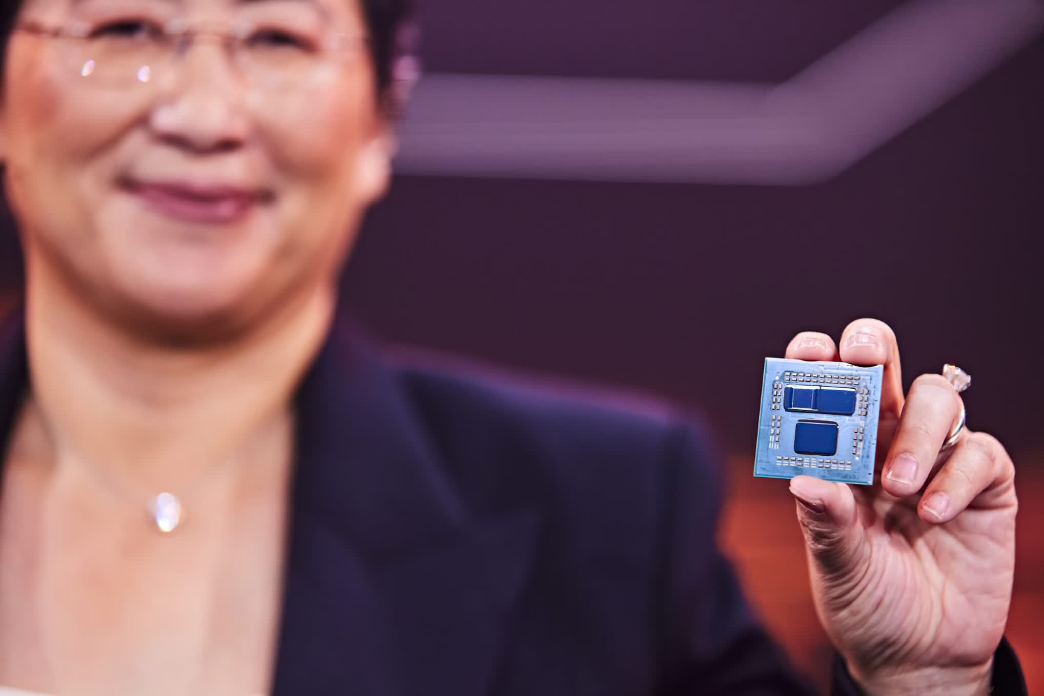 AMD's stacked 3D V-Cache chiplet tech can triple a processor's L3 cache