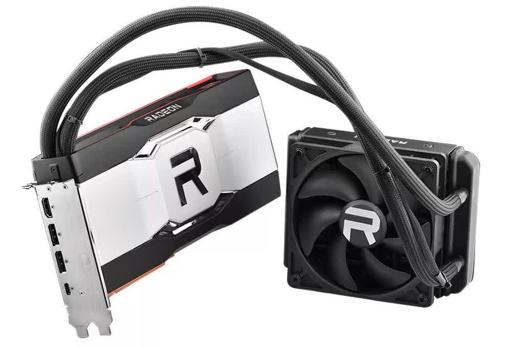 Liquid-cooled Radeon RX 6900 XT graphics cards might release later this month