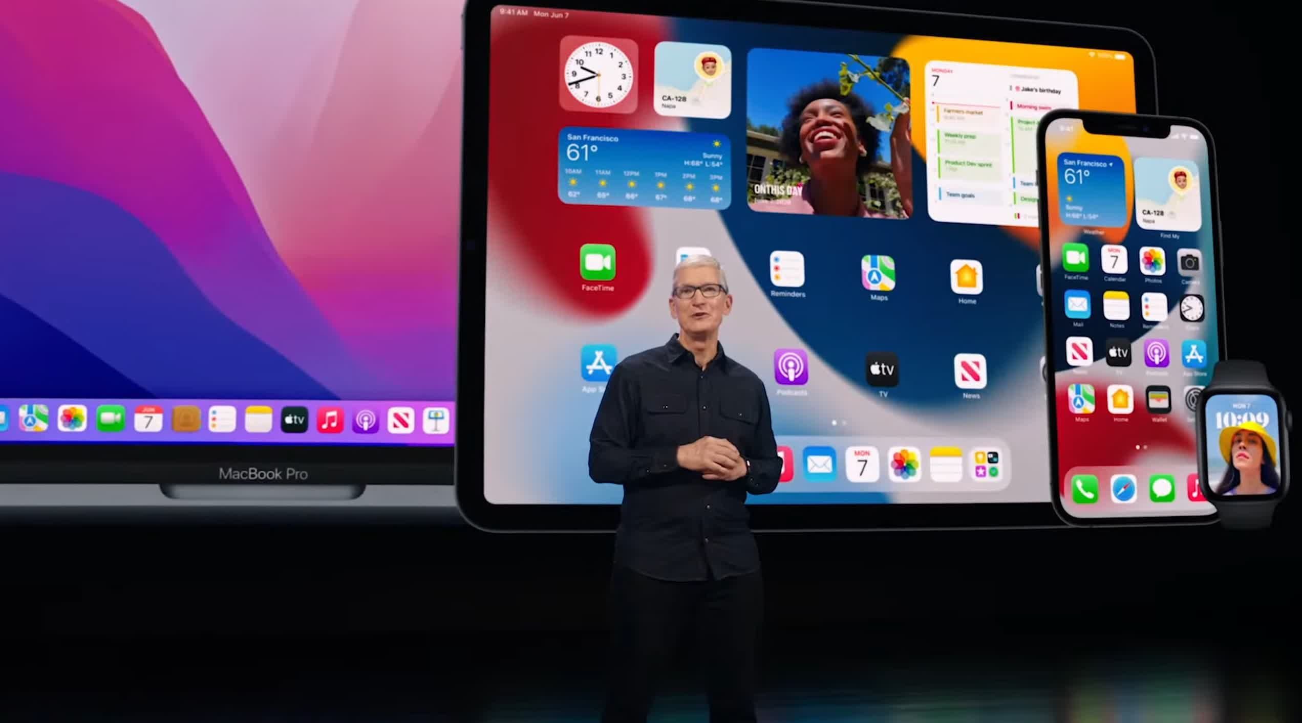 Apple reveals iOS 15, iPadOS 15, and macOS Monterey - here are the highlights