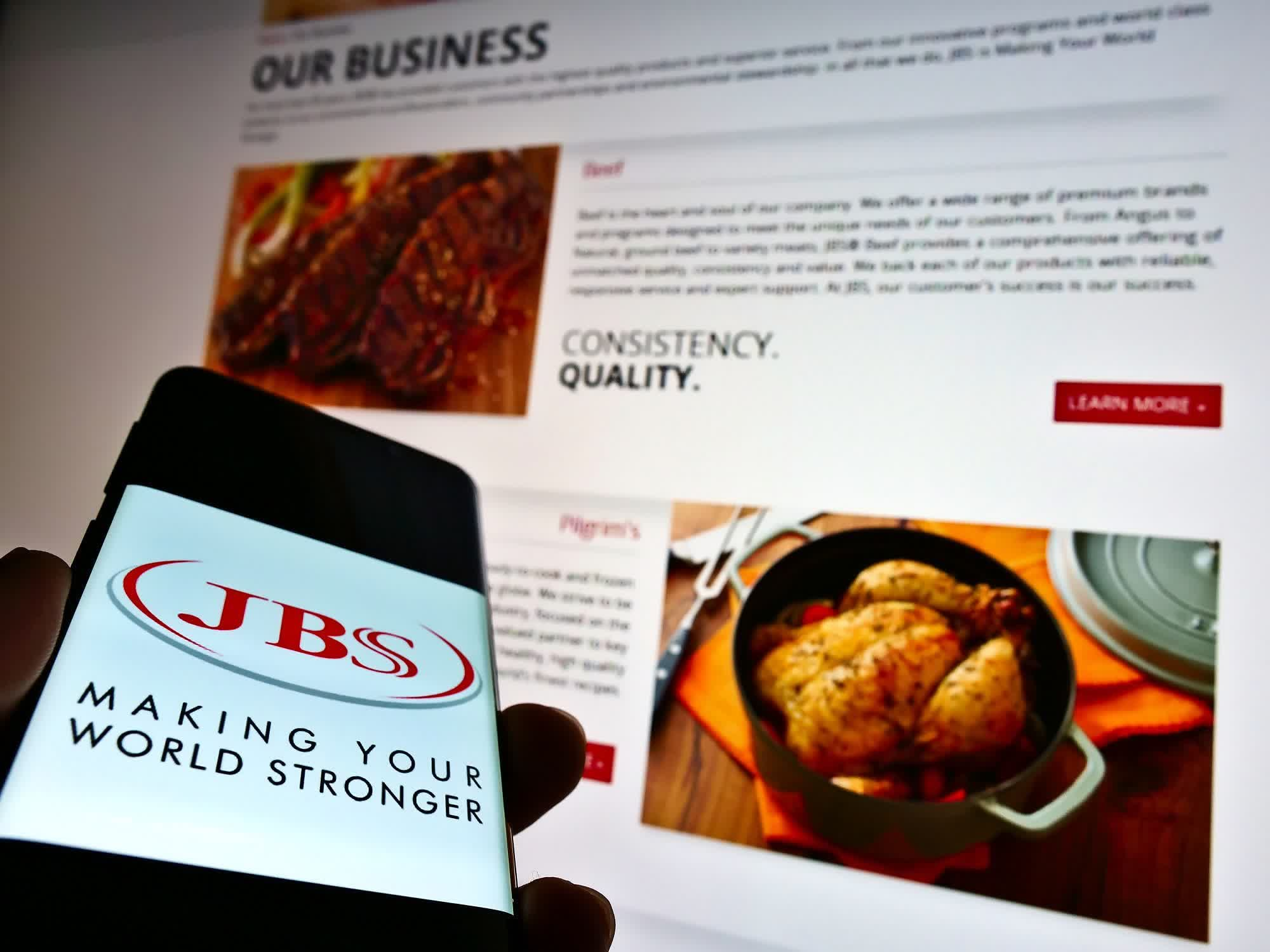 <p>World's biggest meat processor JBS pays $11 million into ransomware gang thumbnail