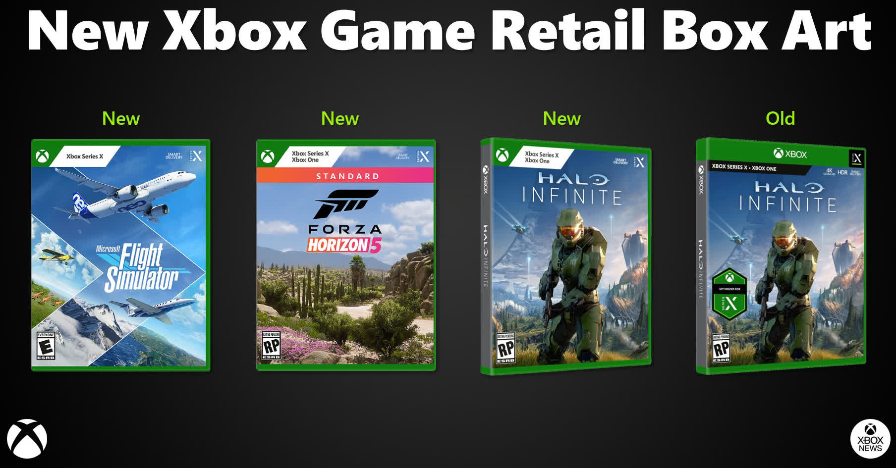 Microsoft quietly updates Xbox game packaging design