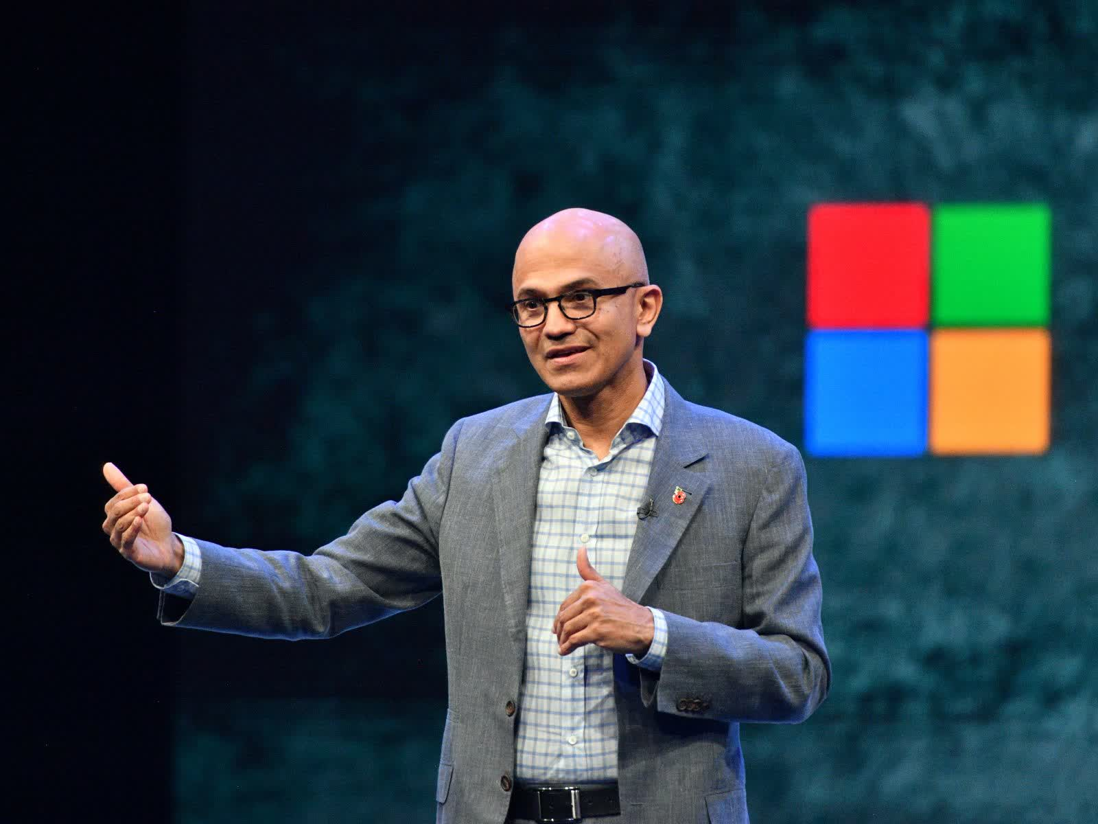 Satya Nadella, CEO of Microsoft, is now chairman of the board