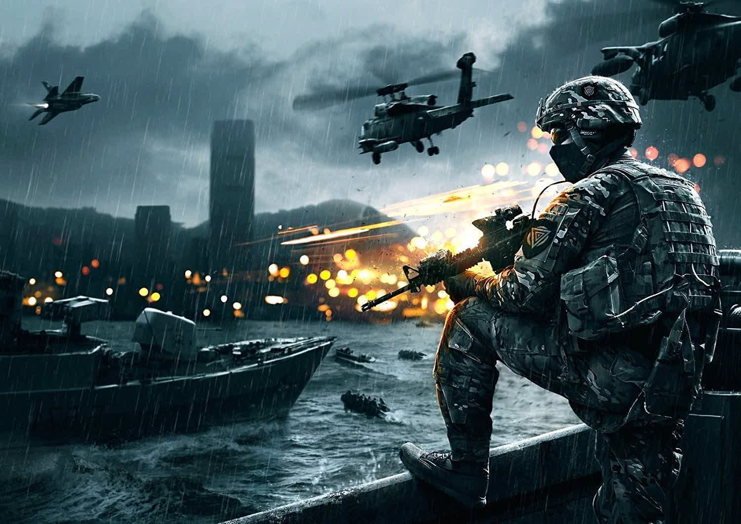 Battlefield 4 has so many players right now that EA had to increase server capacity