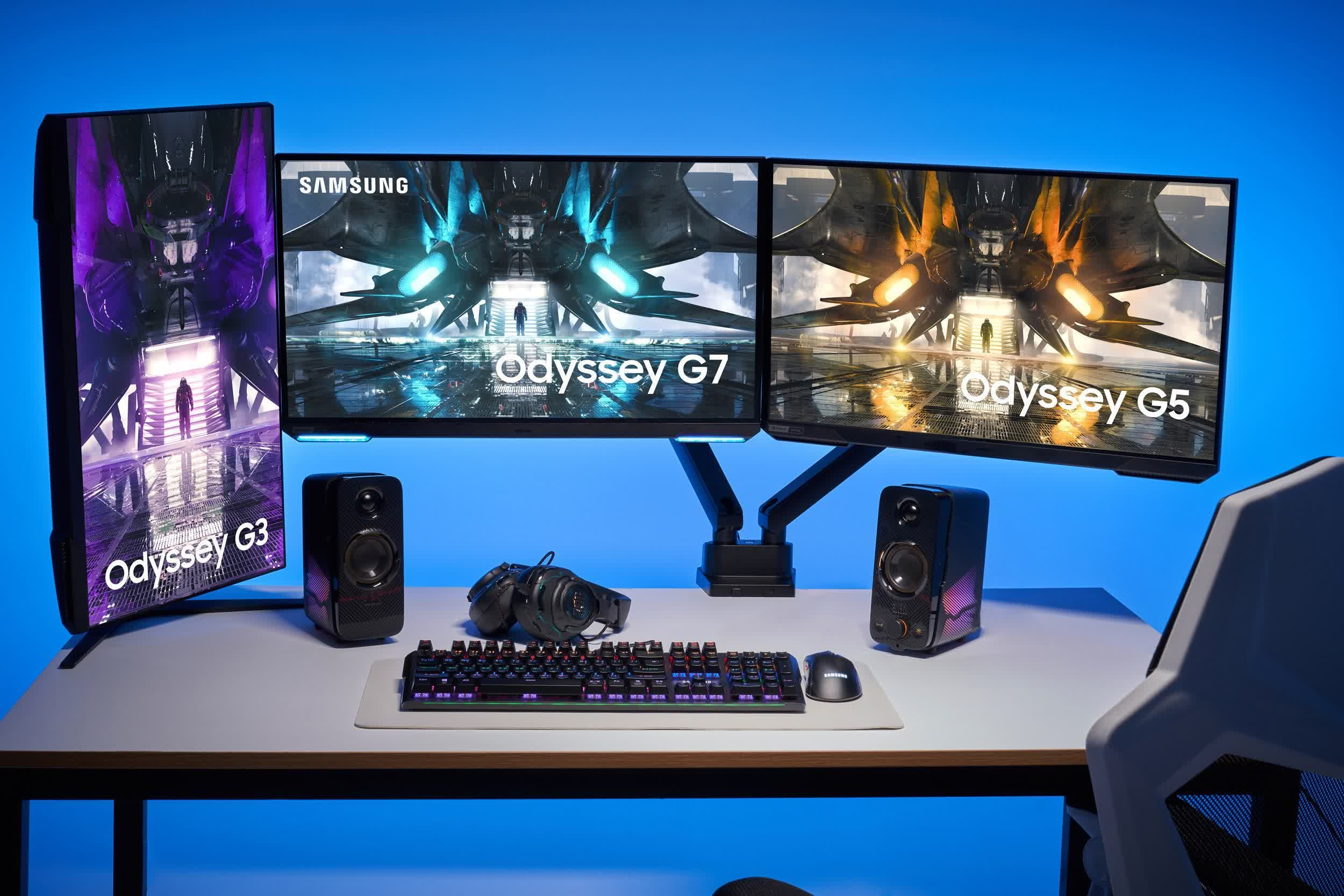 Samsung adds four high refresh monitors to its Odyssey line