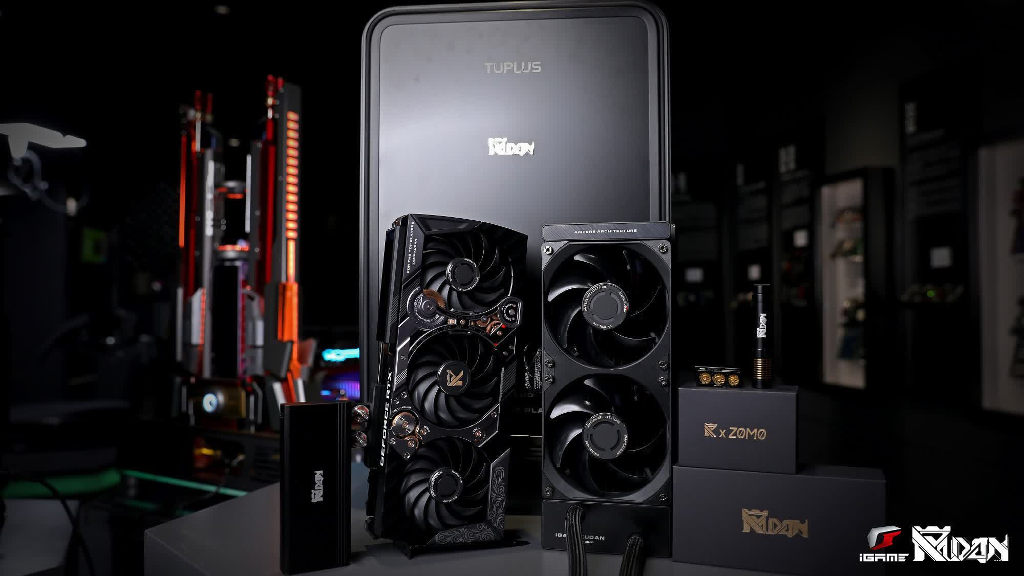 Colorful launches limited edition Kudan RTX 3090 graphics card with $4,999 price tag
