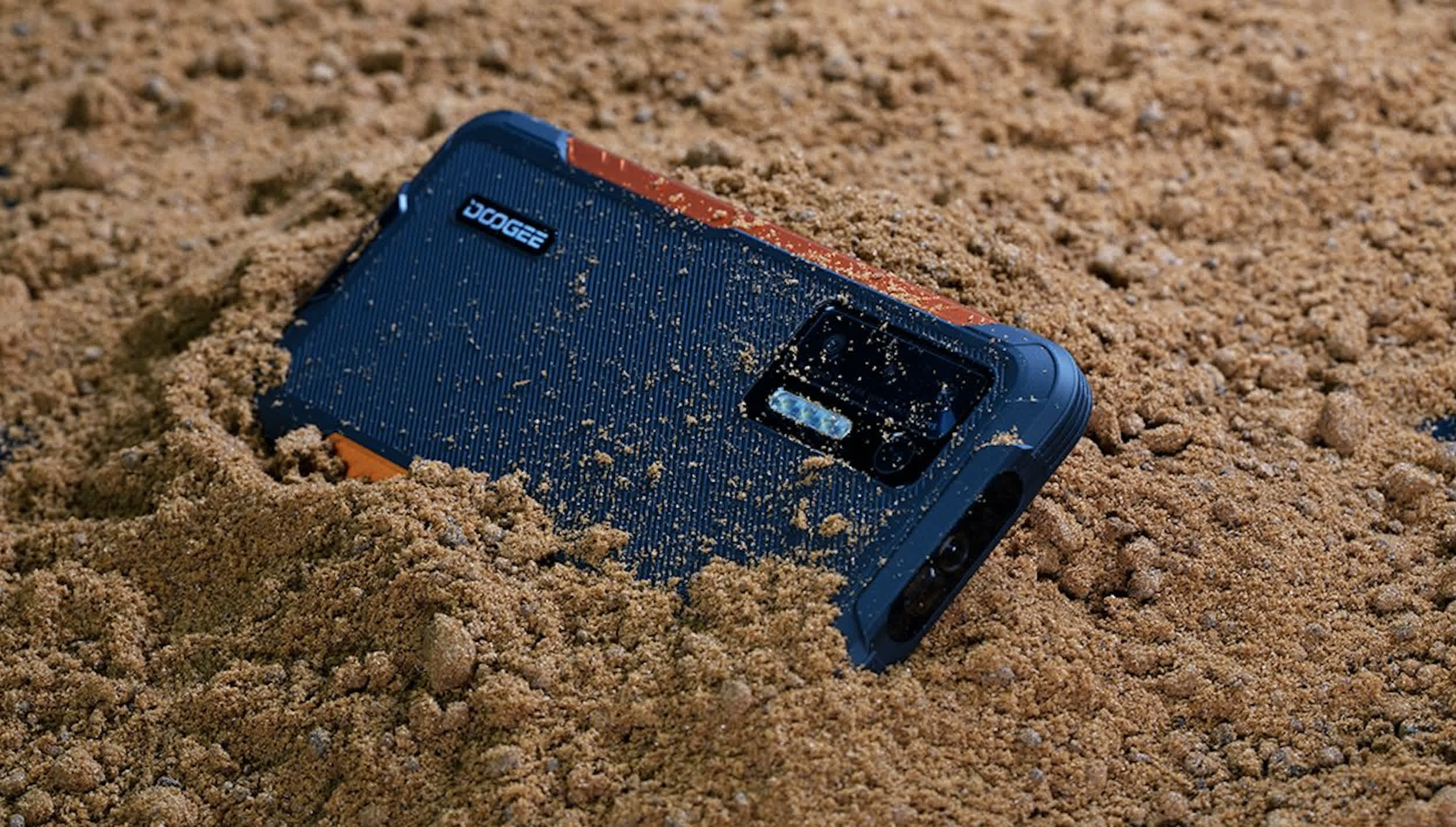 Doogee's rugged S97 Pro packs an 8,500mAh battery and a laser rangefinder