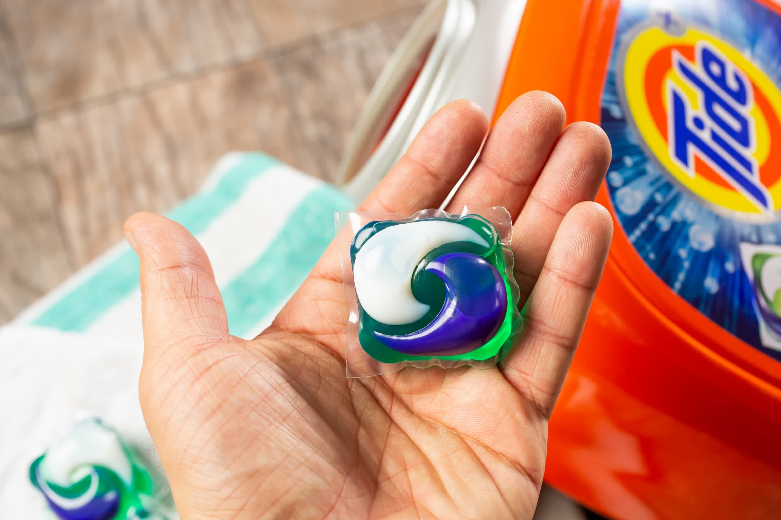 NASA teams with Tide to develop laundry detergent for use in space