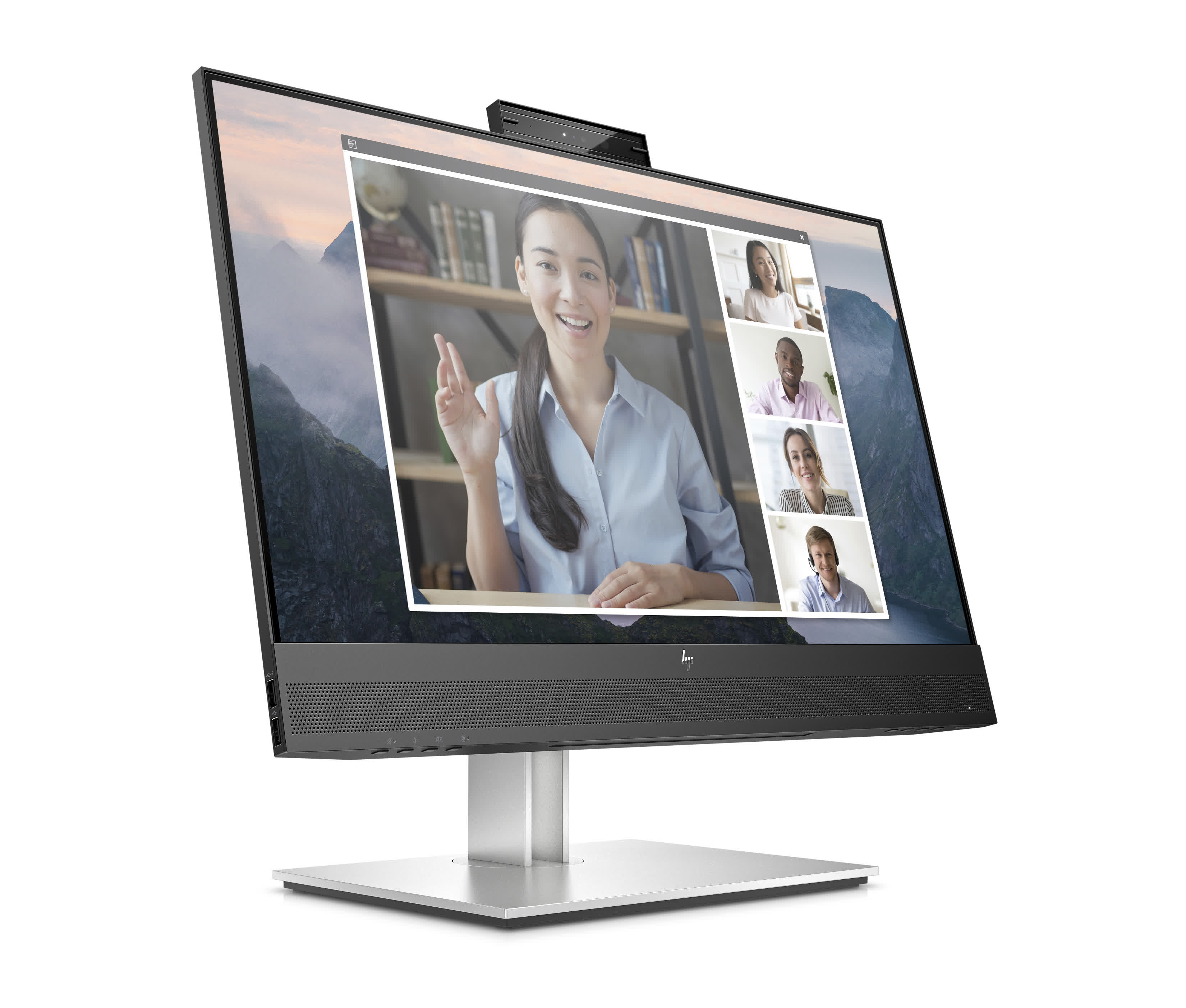 HP's latest monitors are certified for Zoom calls and Chromebooks