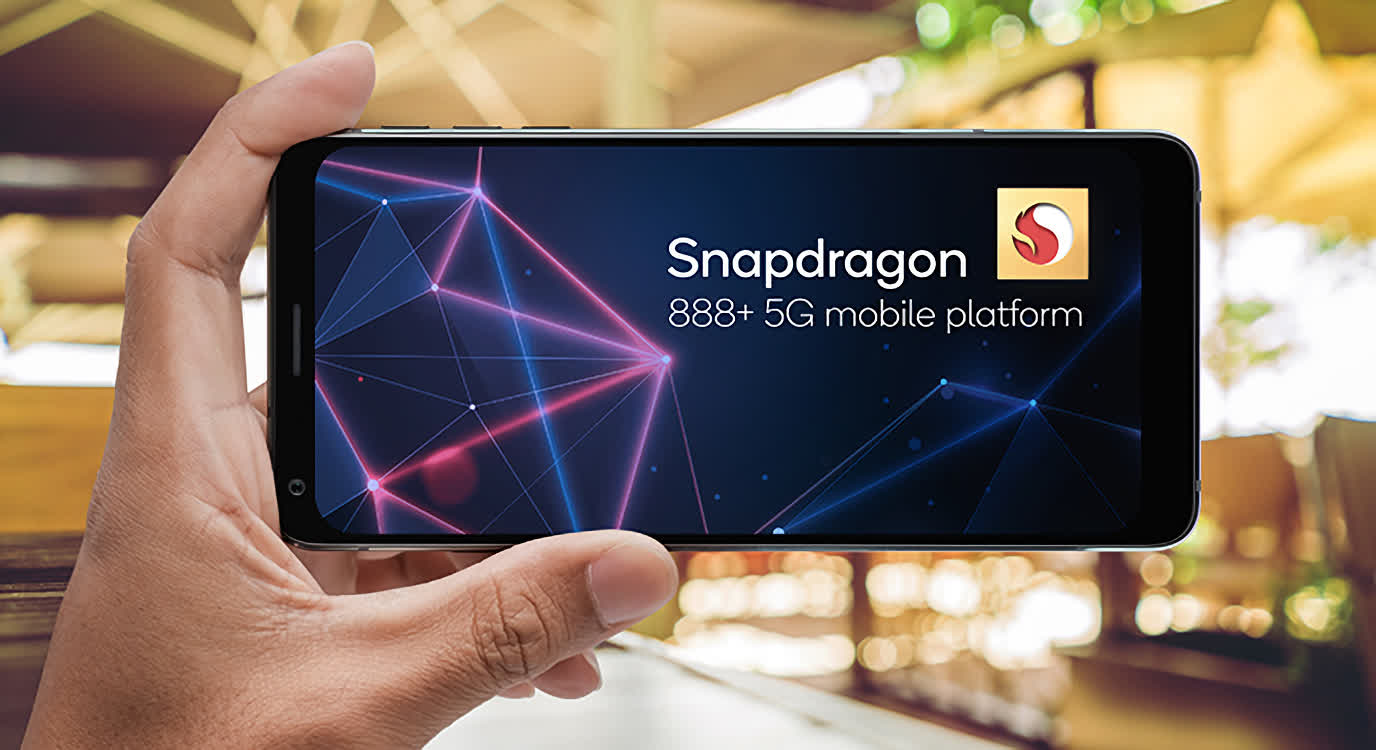 Qualcomm's new Snapdragon 888+ SoC bumps the CPU clock and improves AI performance