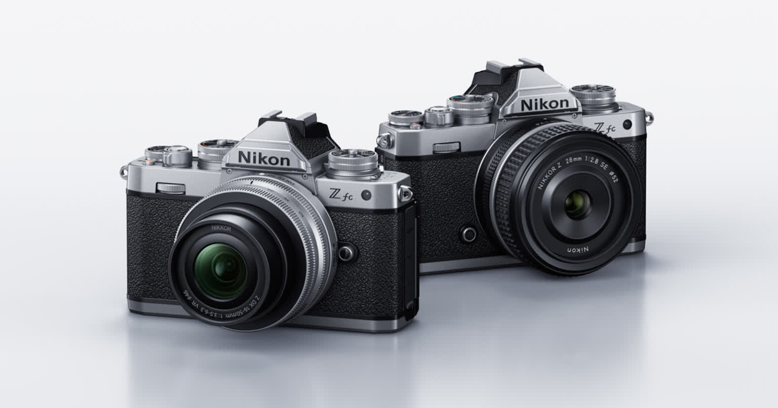 Nikon's Z fc mirrorless camera is inspired by a classic film camera from the 80s