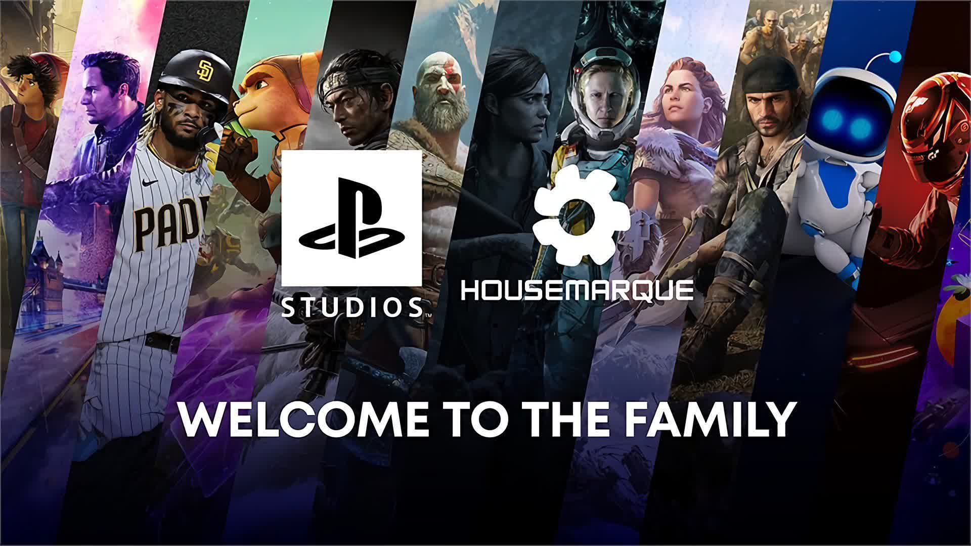 Sony buys studio Housemarque and possibly Bluepoint Games as well