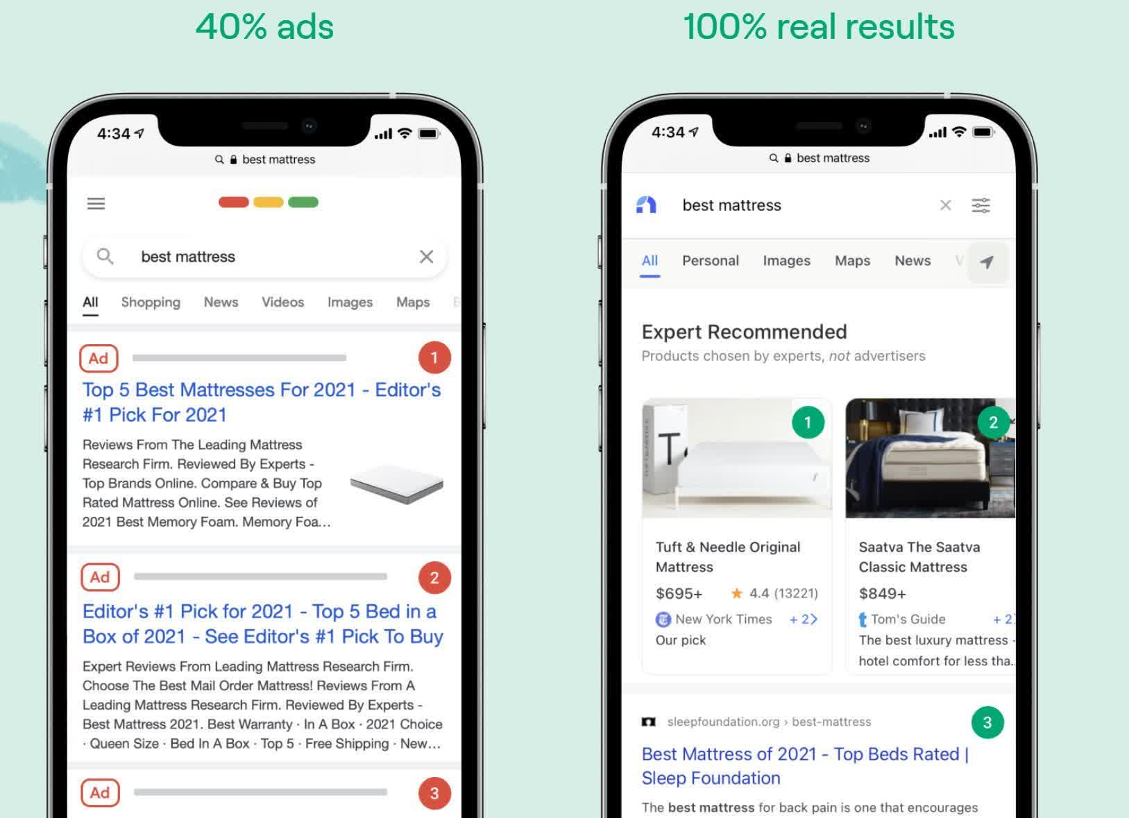 Former Googlers launch Neeva, a $4.95 p/m search engine with no ads and a privacy focus