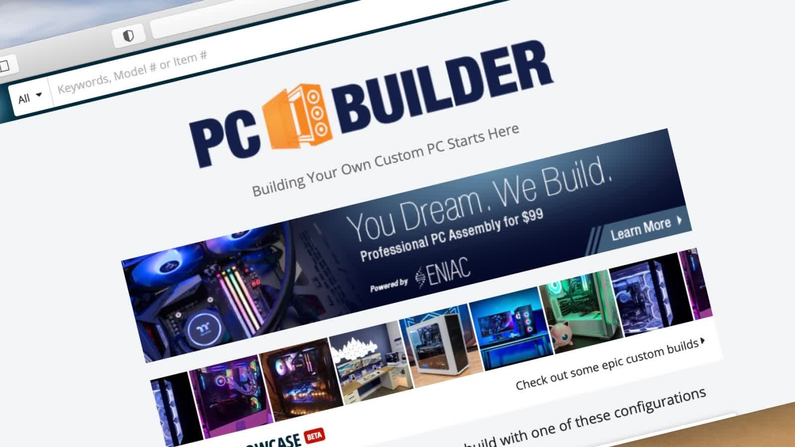 Newegg launches PC building service for an additional $99