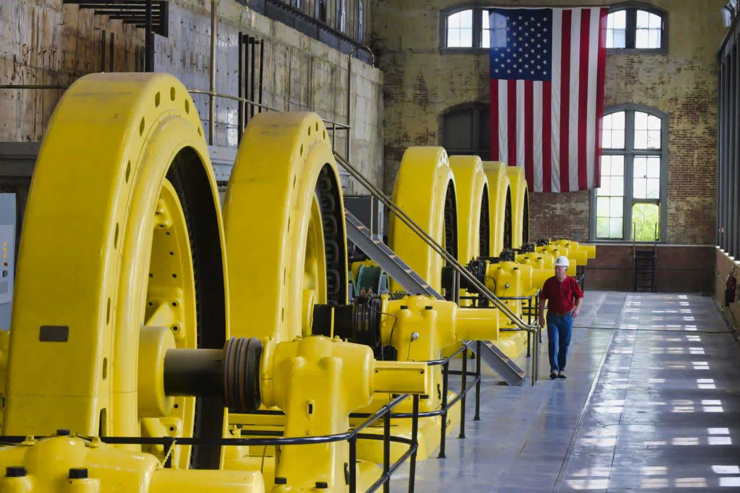 A 124-year old hydroelectric plant is using its power to mine Bitcoin