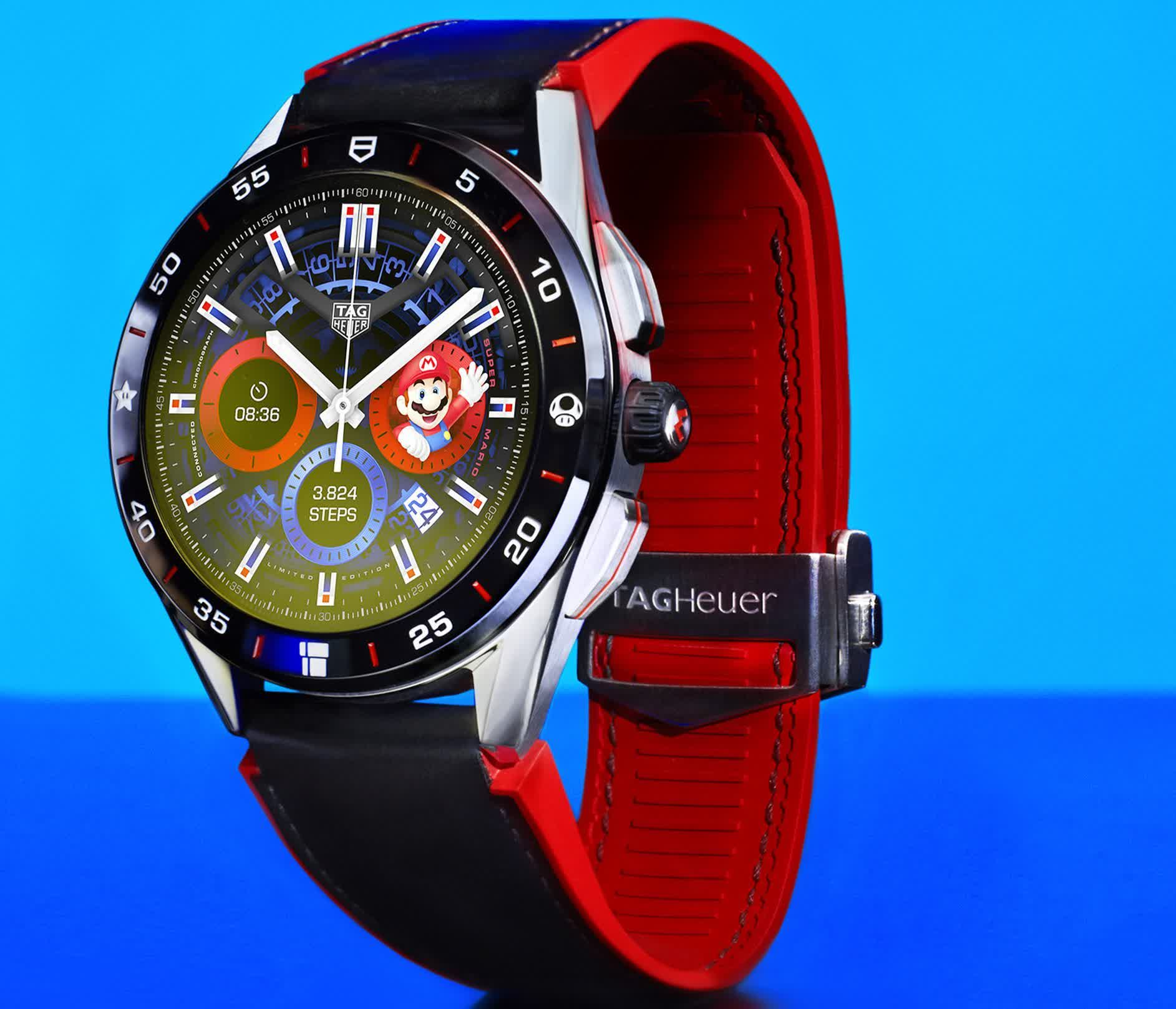 Tag Heuer announces $2,150 Super Mario-themed Android smartwatch