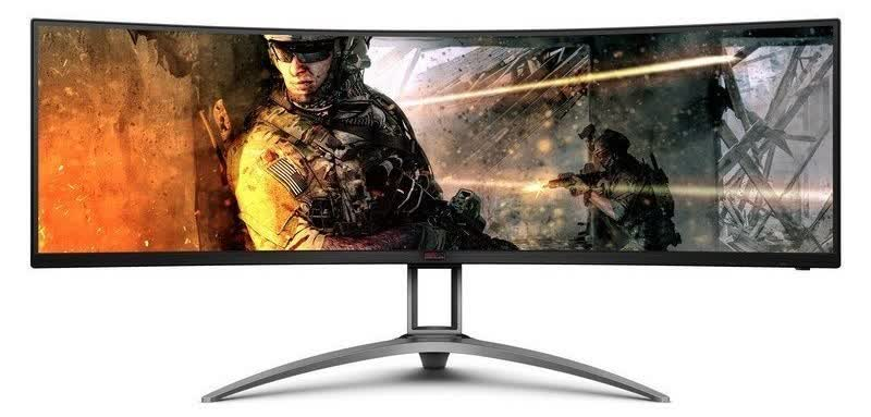 AOC reveals another 49-inch monitor, this one with a 165Hz refresh rate