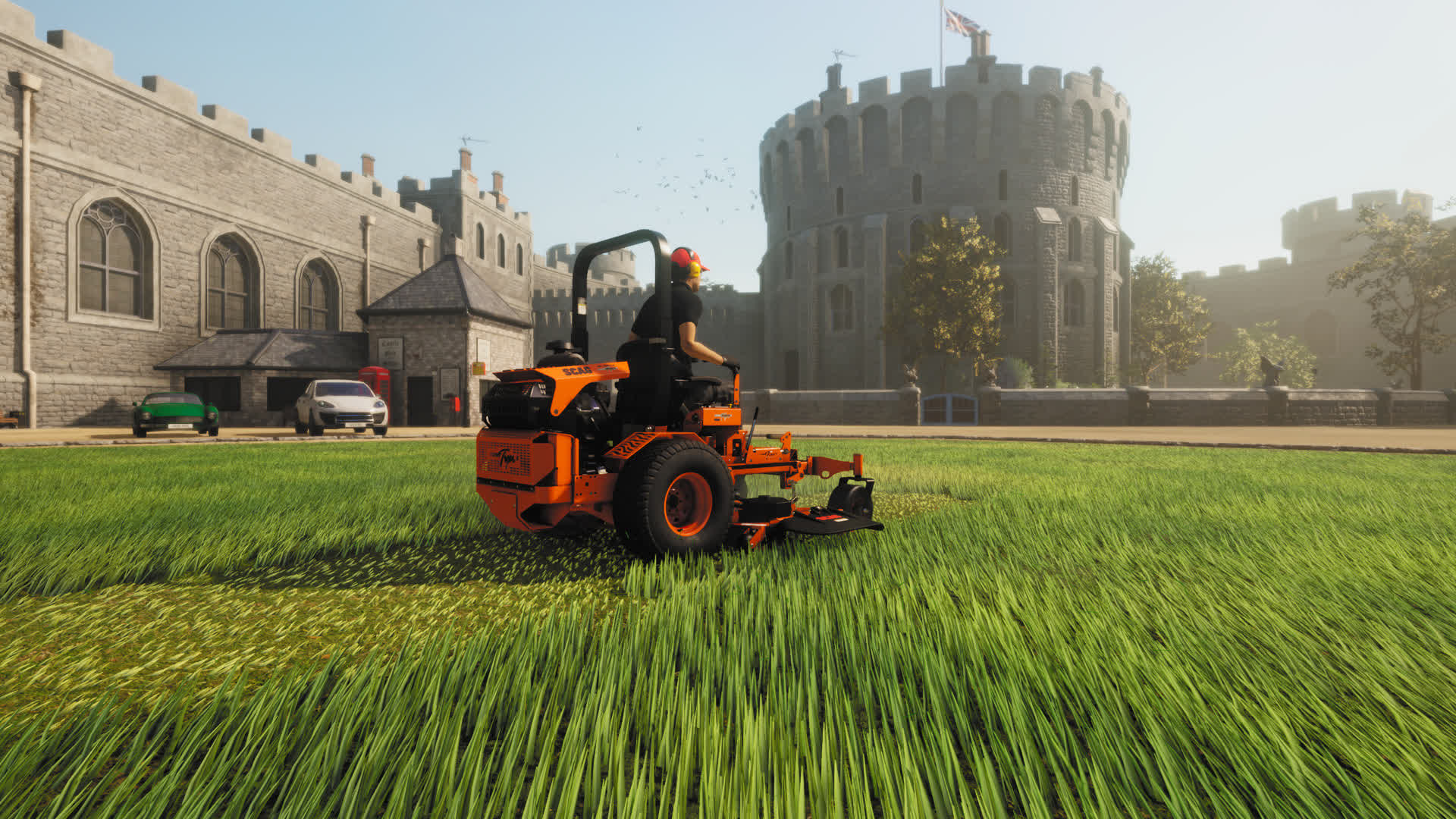 Lawn Mowing Simulator is for those that take grass cutting seriously