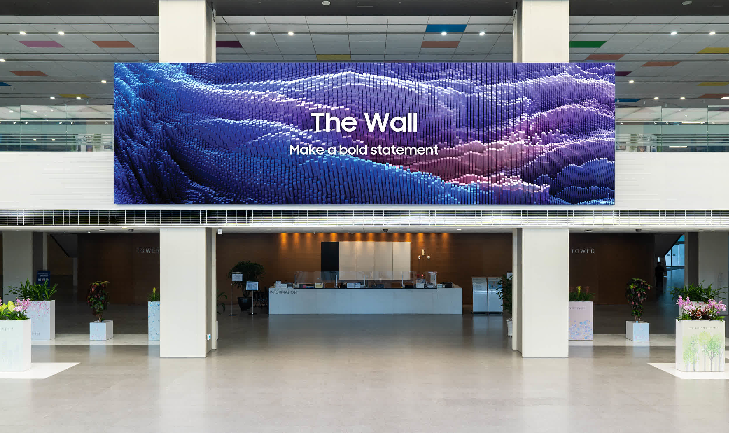 Samsung's latest The Wall TV measures over 1,000 inches diagonally