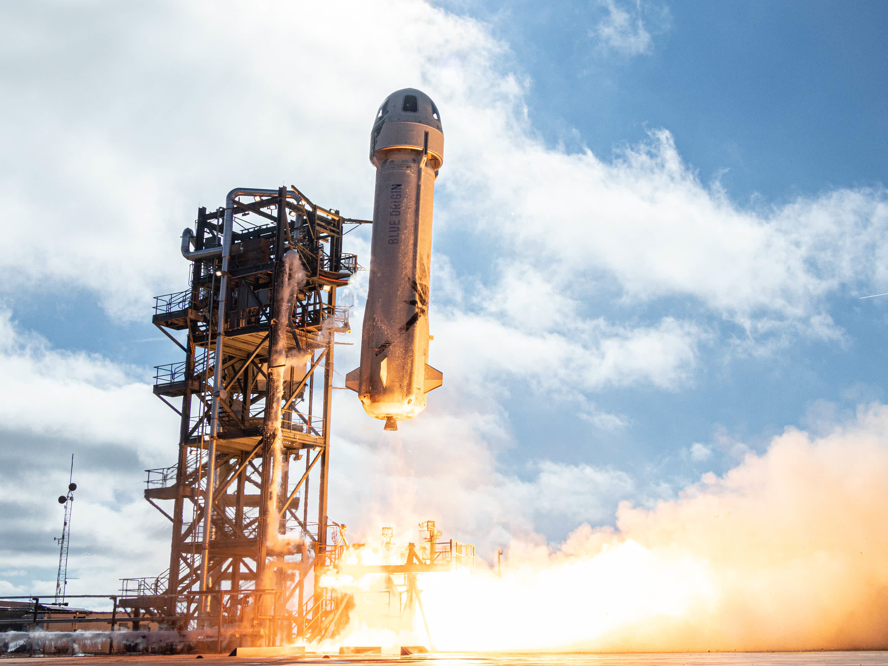 Blue Origin successfully completes its first crewed spaceflight with Bezos in tow