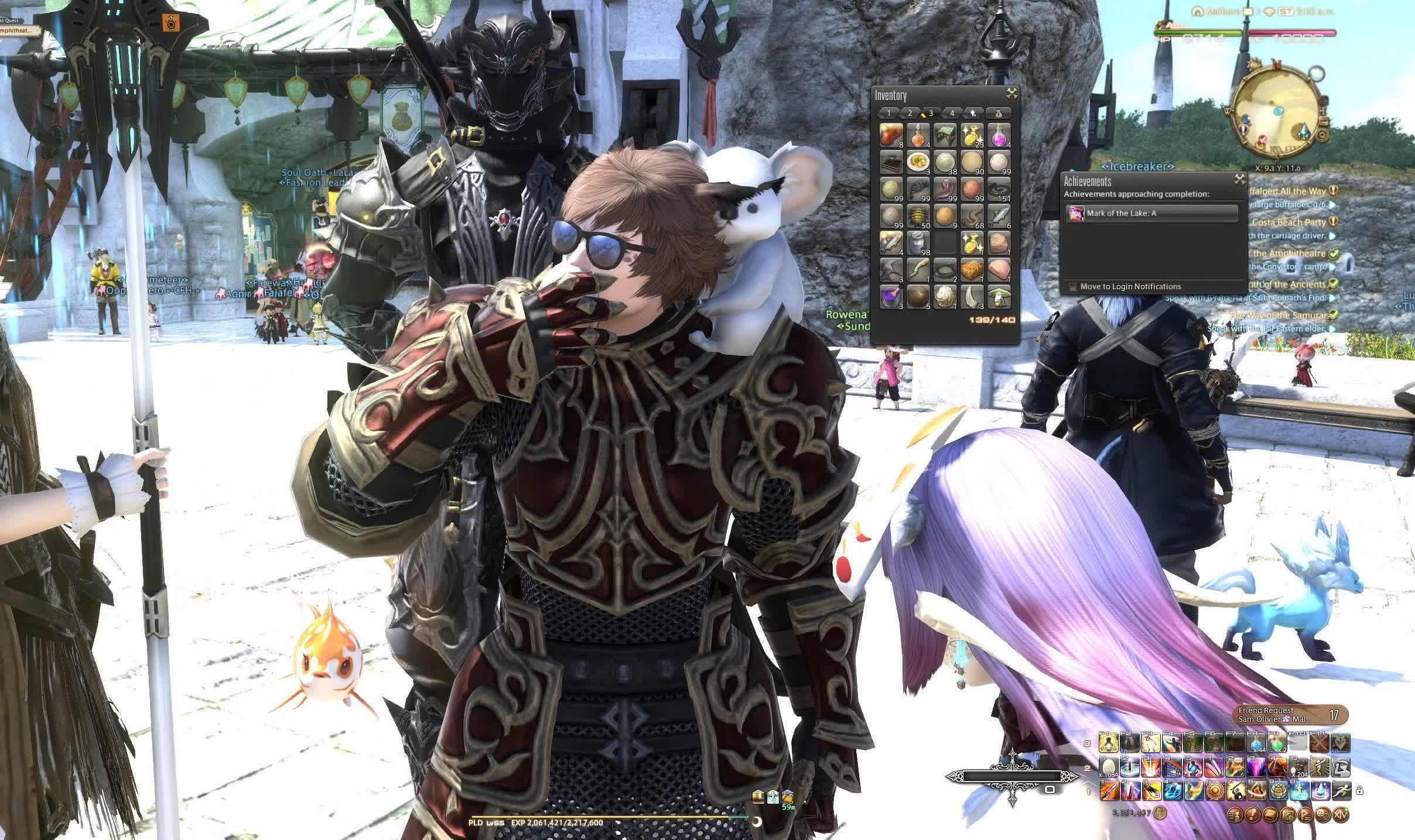 Streamer vows to eat nothing but egg dishes as he eats 140,000+ Final Fantasy XIV eggs