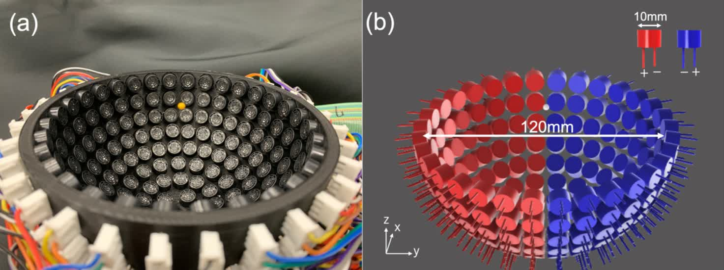 Researchers devise a way to levitate small objects from reflective surfaces using sound waves