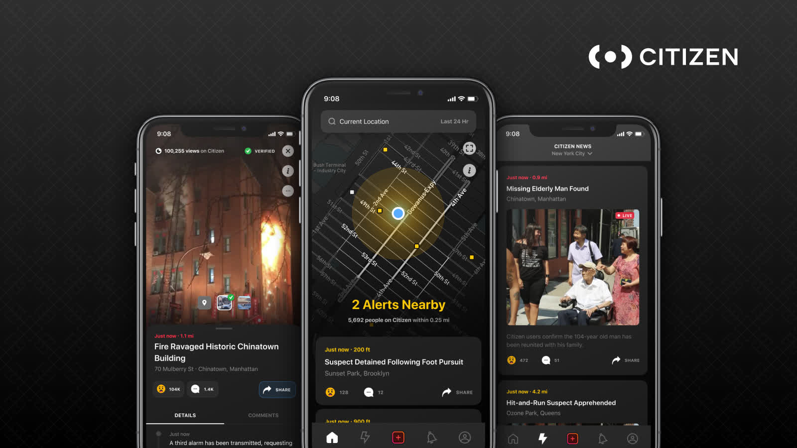 Citizen app pays $200 to $250 a day to track and livestream crimes and emergencies