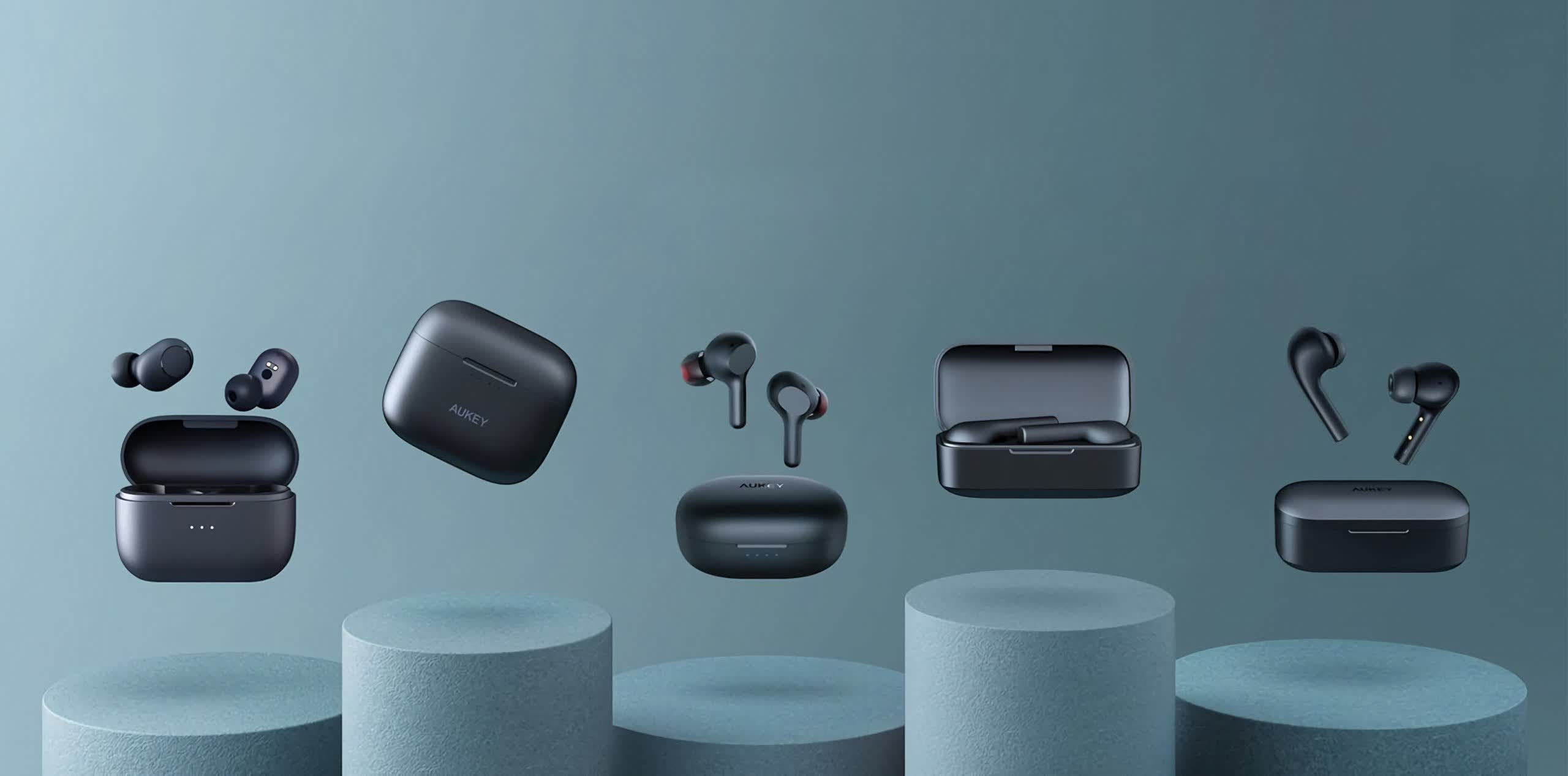 Aukey earbuds found listed on Amazon despite ban for fraudulent reviews