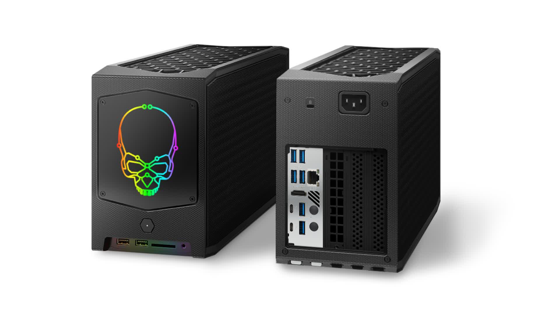 Intel 'Beast Canyon' NUC 11 Extreme kit is now available, starts at $1,150