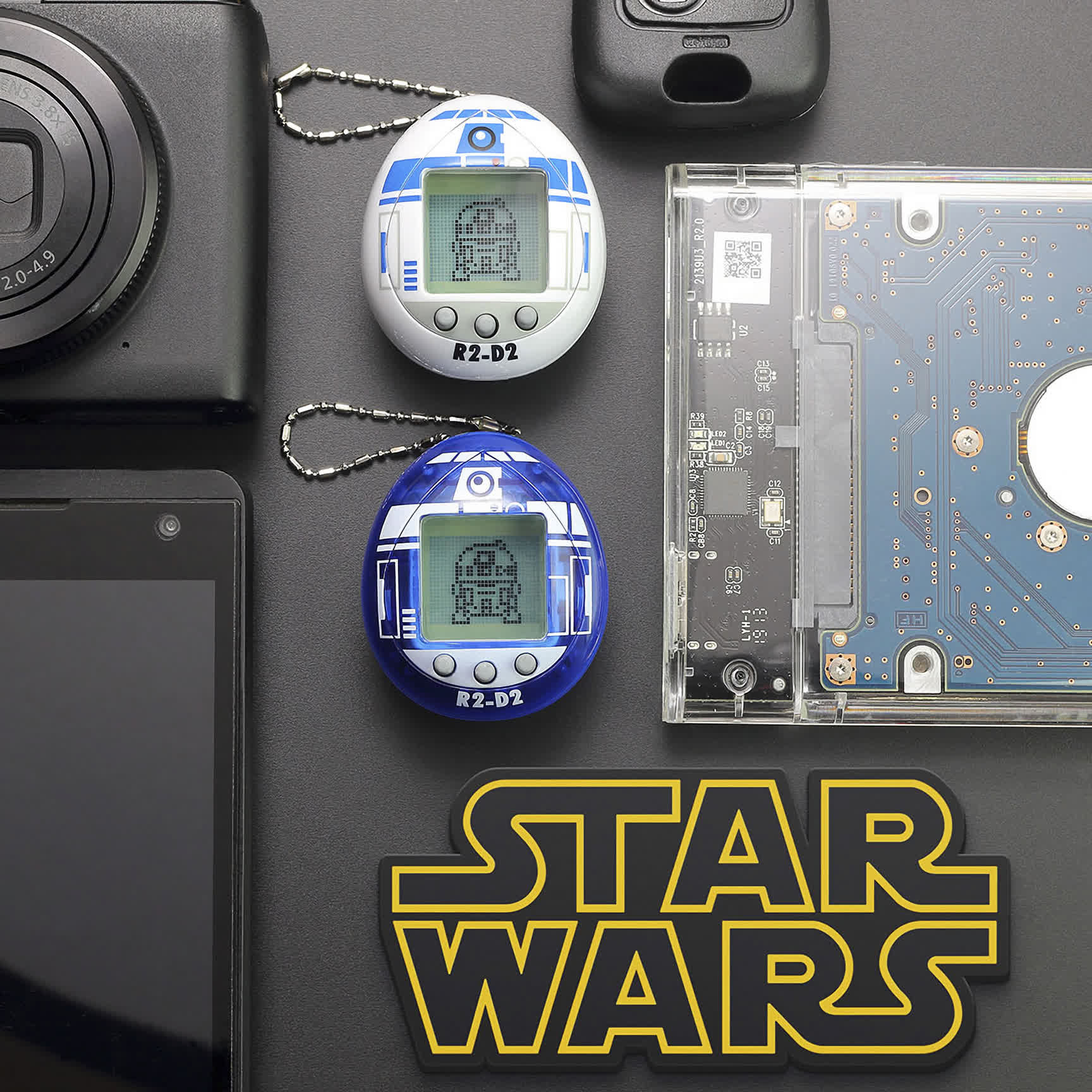 The first Star Wars Tamagotchi lets you take care of a digital version of R2-D2