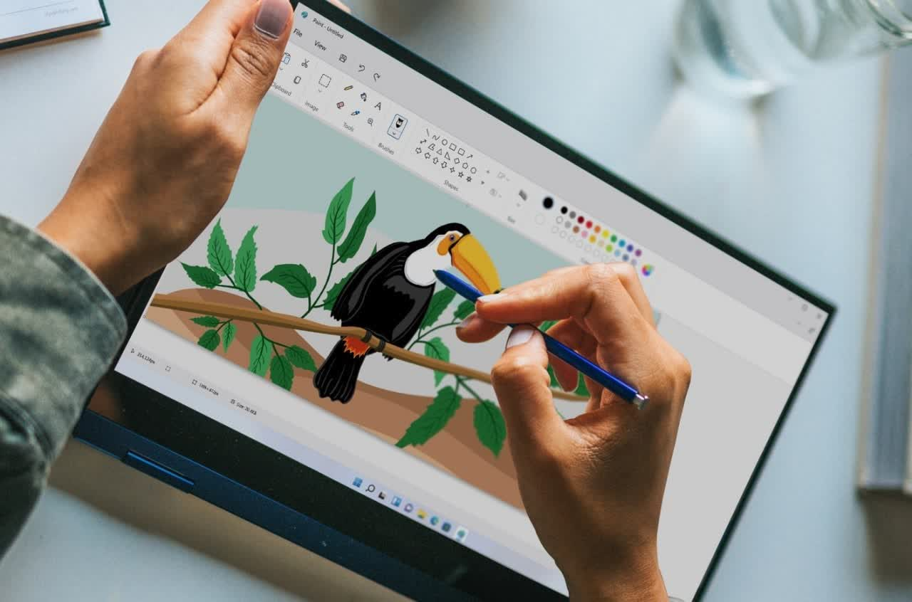 Check out the new look for Paint and Photos in Windows 11