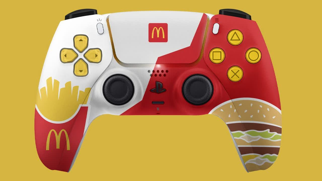 Sony stops the McDonald's PS5 controller giveaway; fast-food chain claims there were no release plans